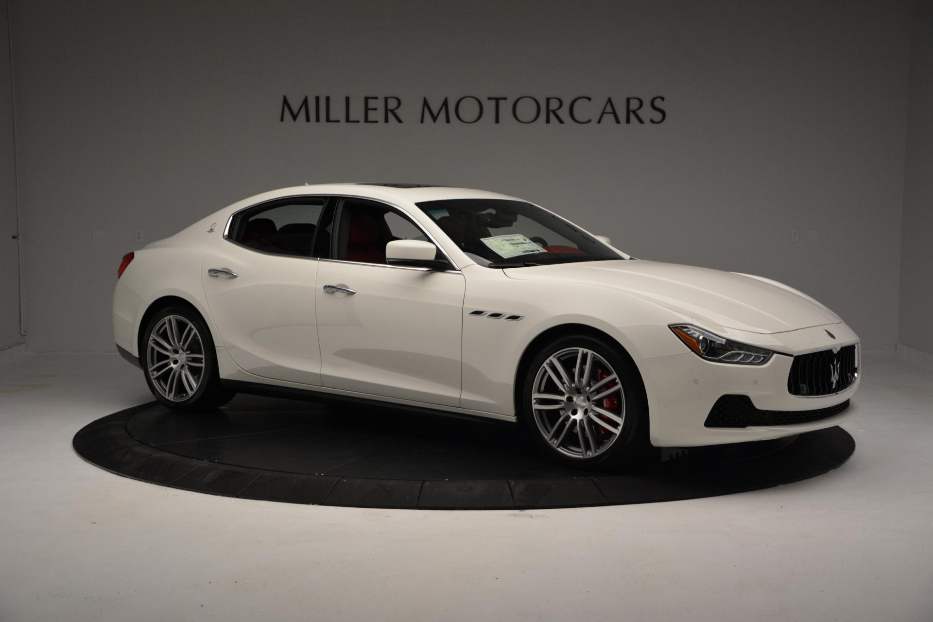 New 2016 Maserati Ghibli S Q4 For Sale In Westport, CT 60_p9