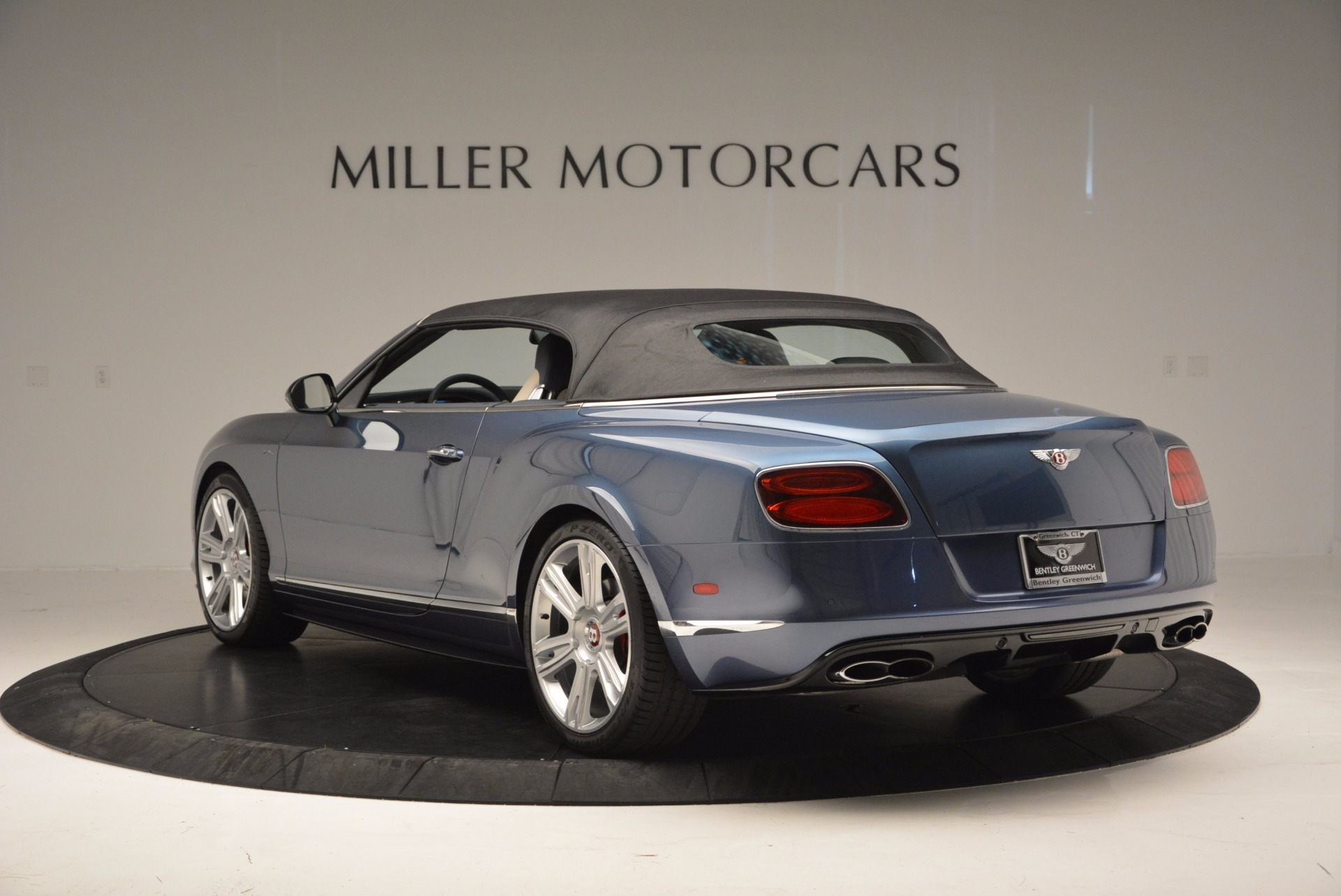 Used 2014 Bentley Continental GT V8 S Convertible  For Sale In Westport, CT 600_p16