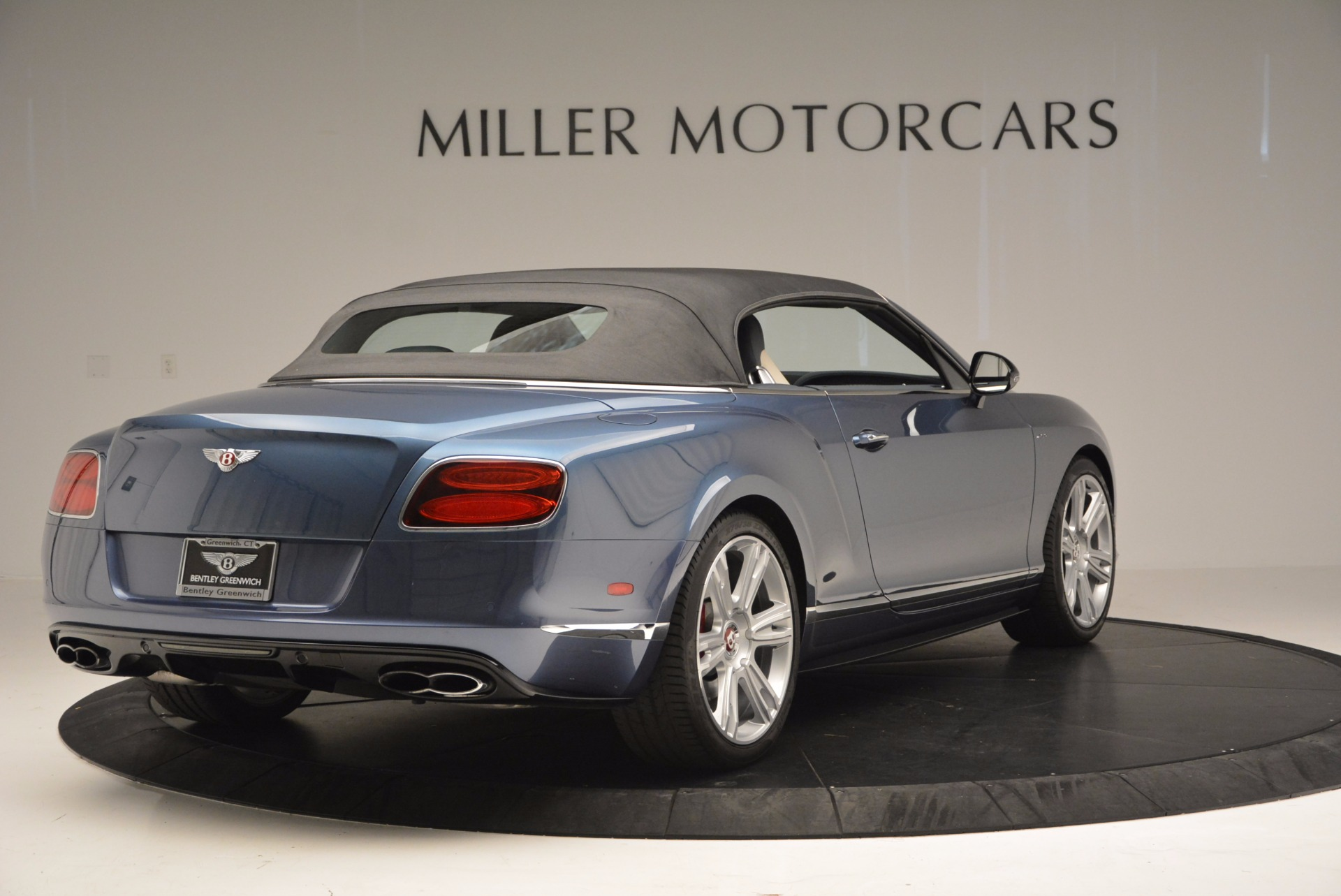 Used 2014 Bentley Continental GT V8 S Convertible  For Sale In Westport, CT 600_p18