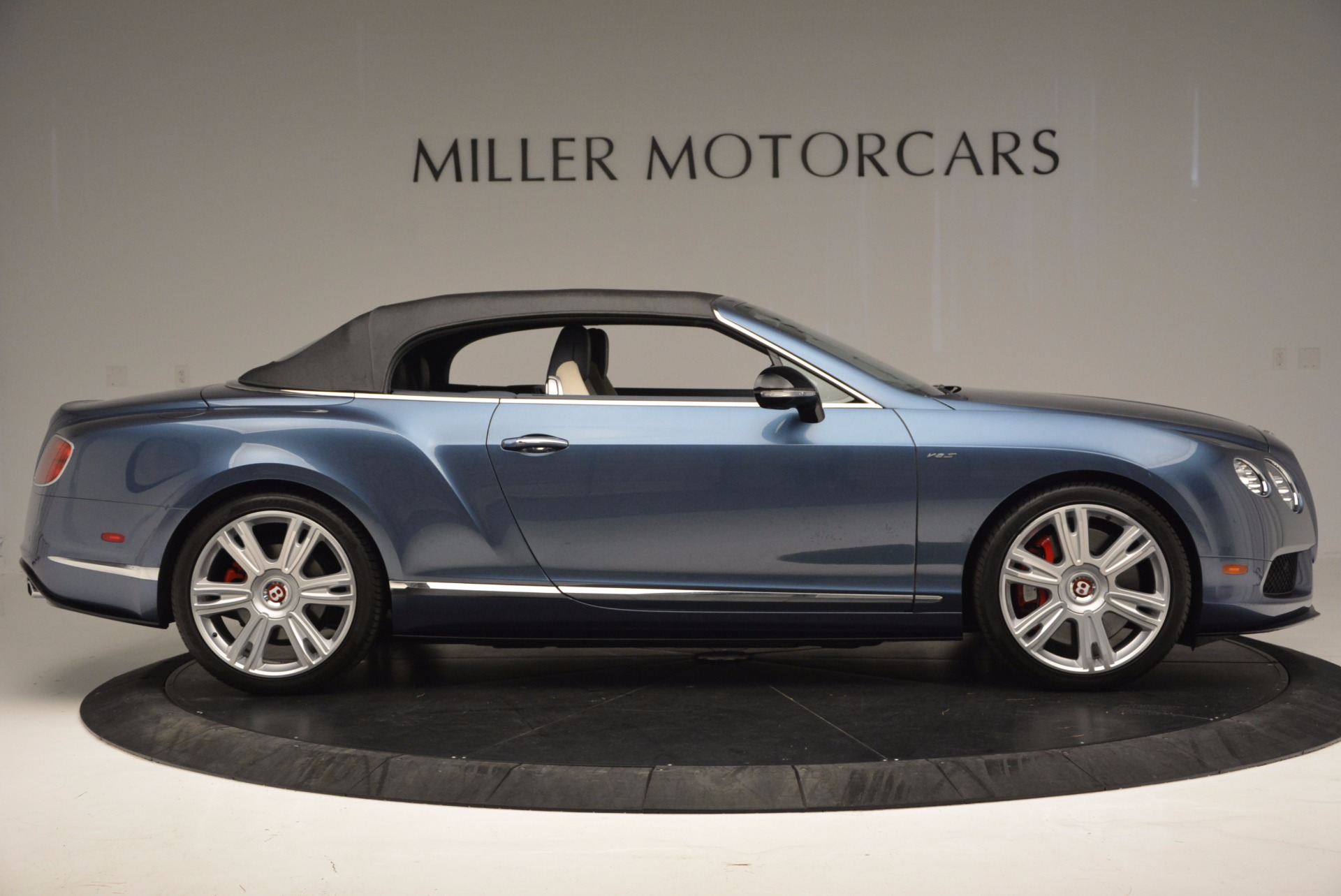 Used 2014 Bentley Continental GT V8 S Convertible  For Sale In Westport, CT 600_p19