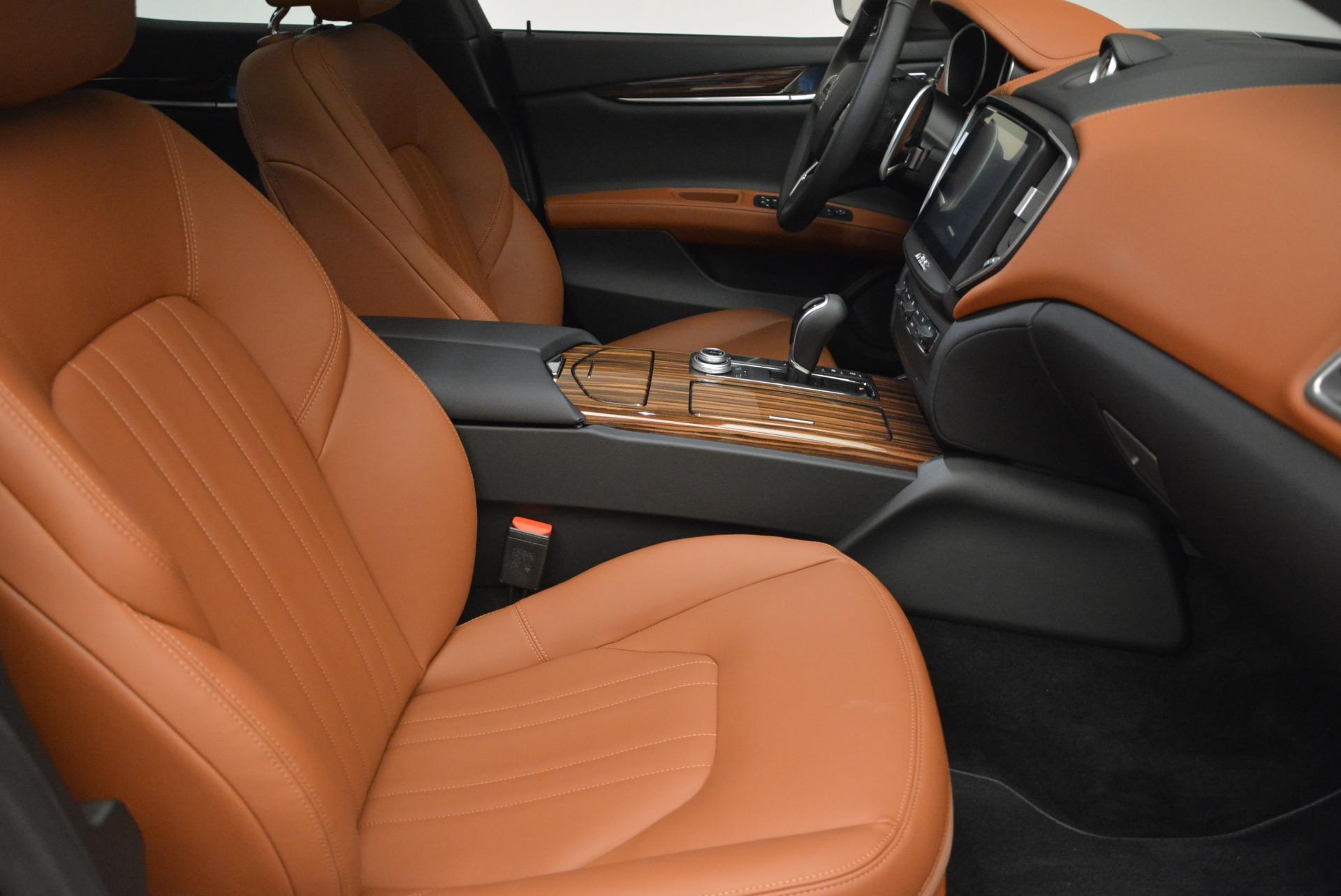 Used 2017 Maserati Ghibli S Q4 EX-LOANER For Sale In Westport, CT 608_p21