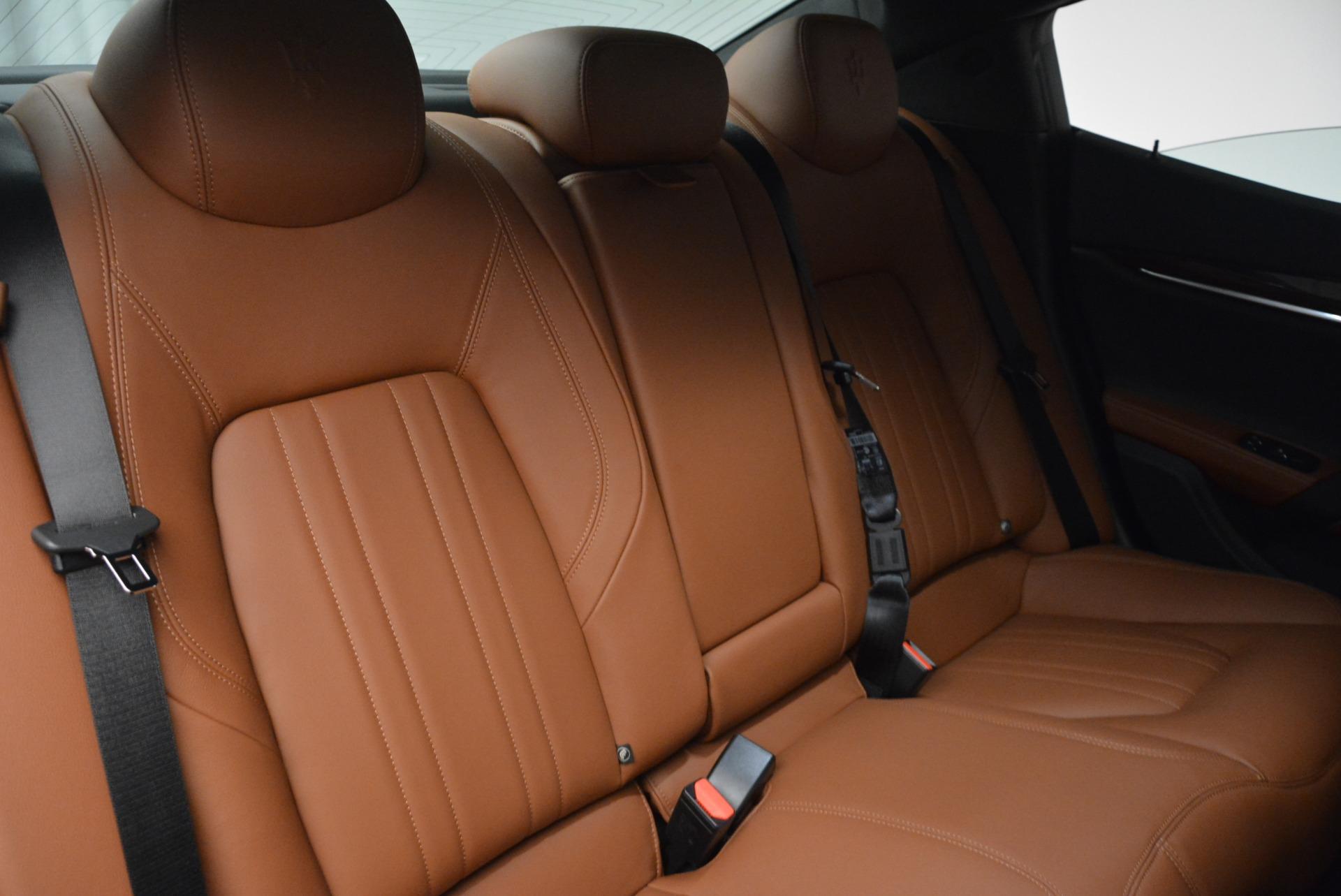 Used 2017 Maserati Ghibli S Q4 EX-LOANER For Sale In Westport, CT 608_p25