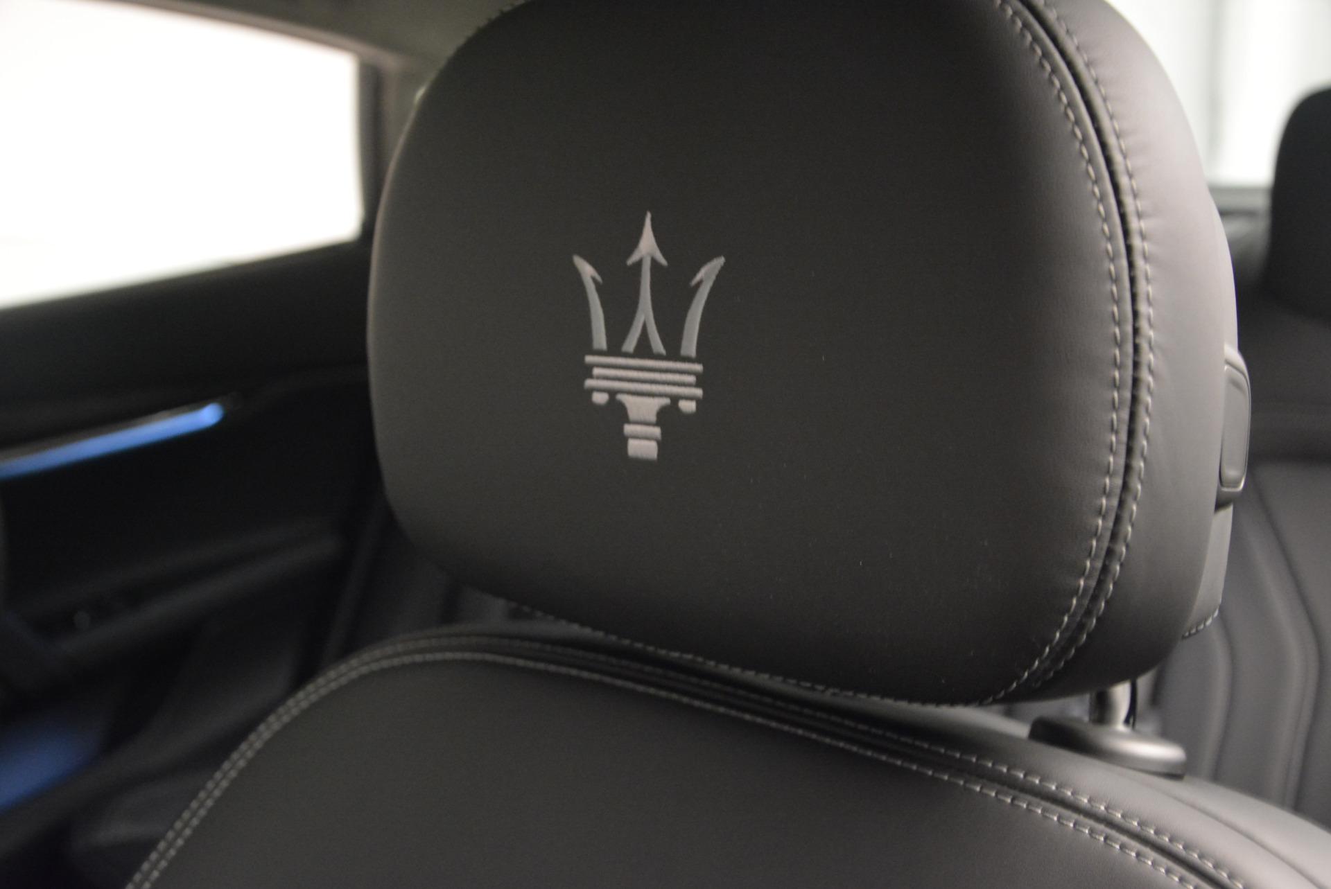 New 2017 Maserati Quattroporte S Q4 GranLusso For Sale In Westport, CT 611_p16