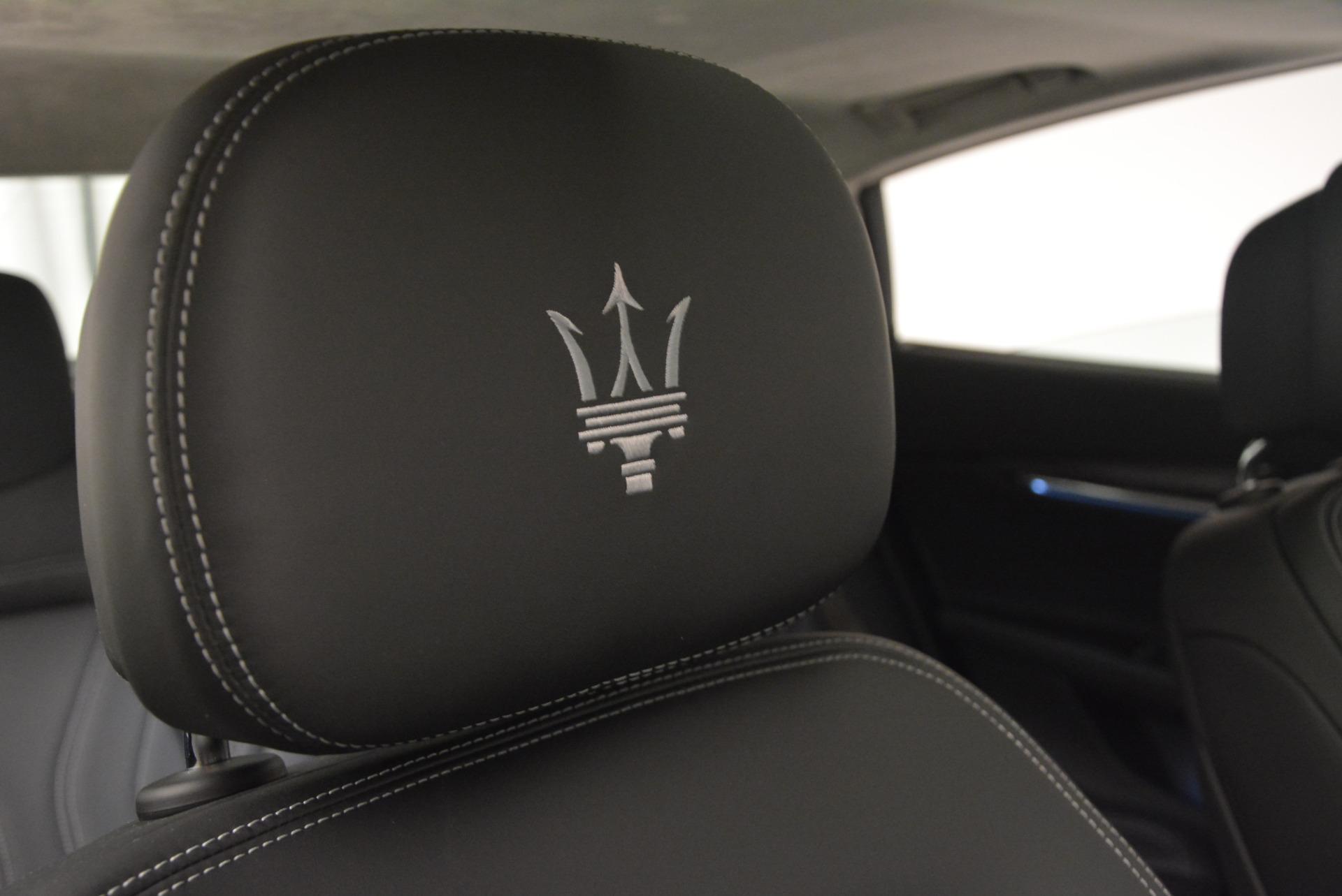New 2017 Maserati Quattroporte S Q4 GranLusso For Sale In Westport, CT 611_p24
