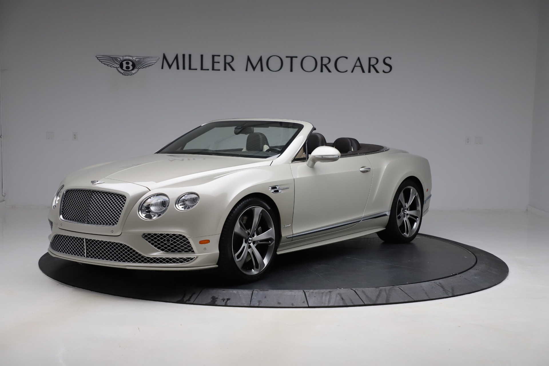 Used 2016 Bentley Continental GT Speed Convertible  For Sale In Westport, CT 619_p2