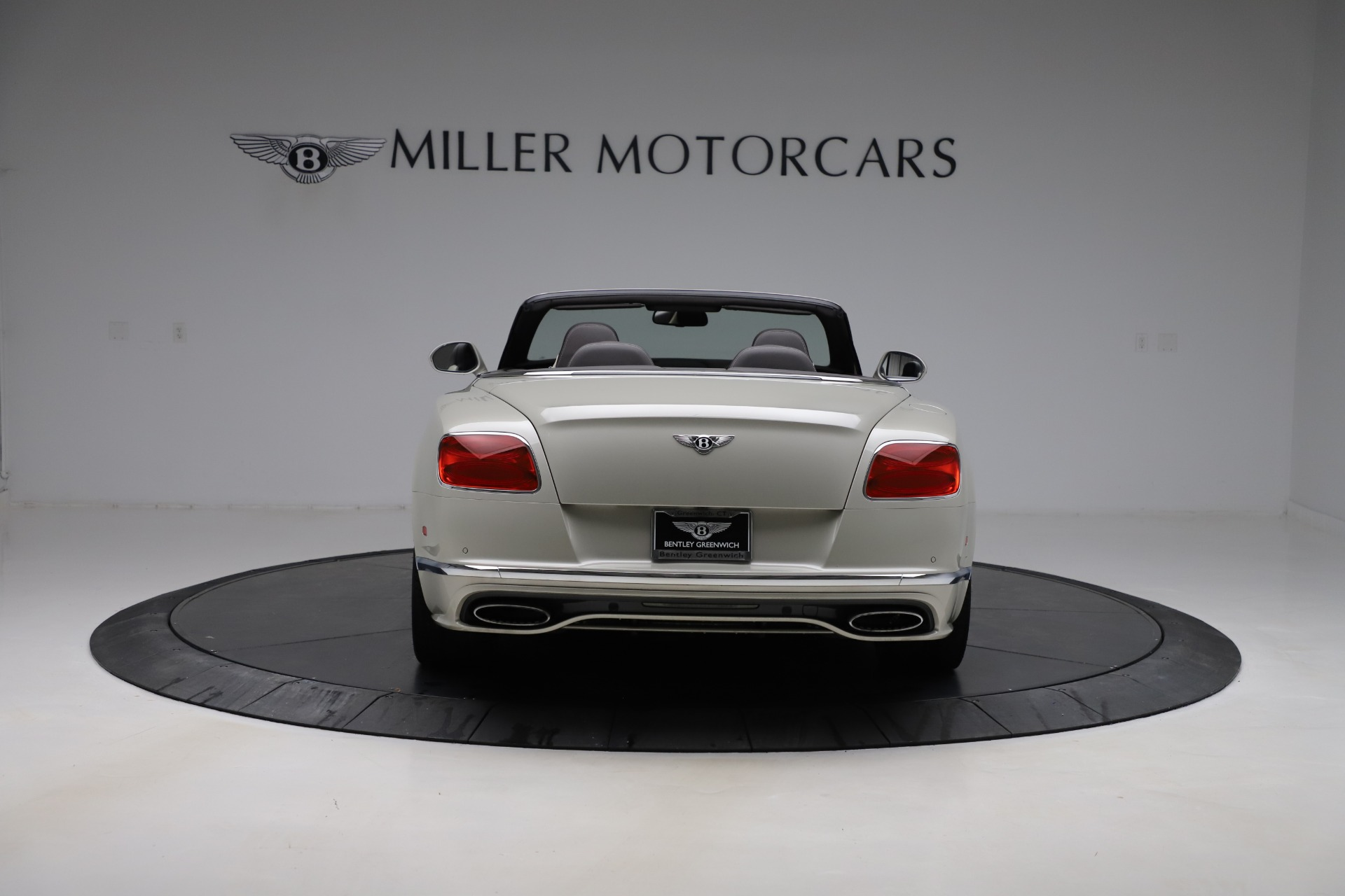 Used 2016 Bentley Continental GT Speed Convertible  For Sale In Westport, CT 619_p6