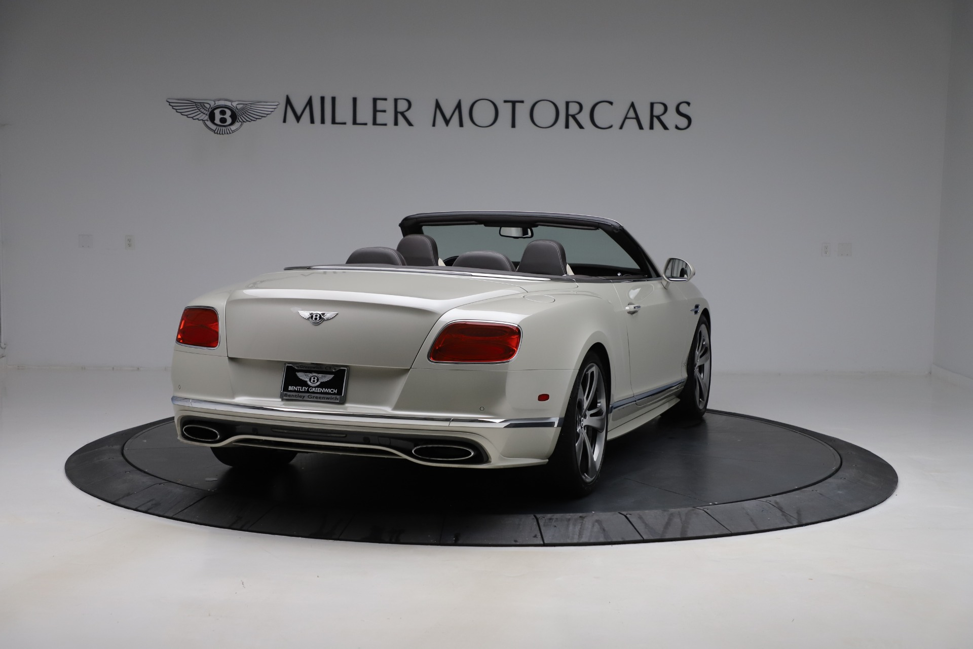Used 2016 Bentley Continental GT Speed Convertible  For Sale In Westport, CT 619_p8