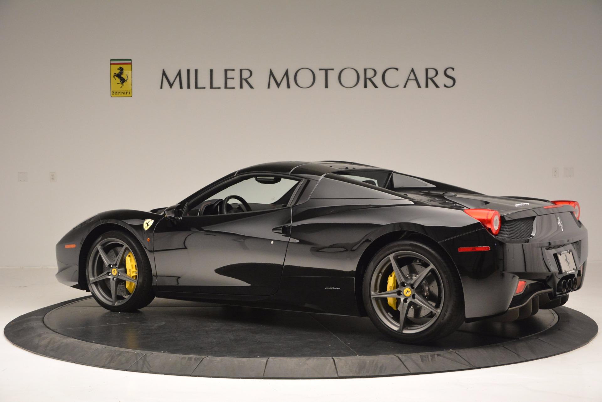 Used 2014 Ferrari 458 Spider  For Sale In Westport, CT 620_p16