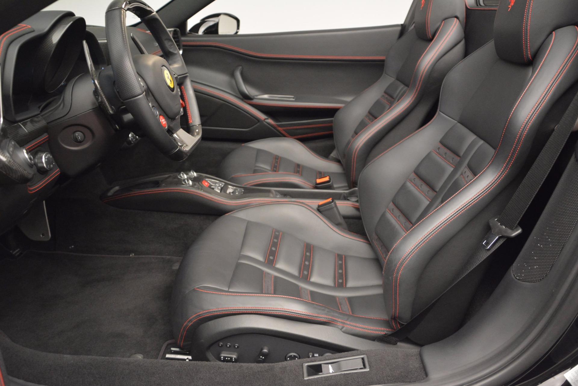 Used 2014 Ferrari 458 Spider  For Sale In Westport, CT 620_p26