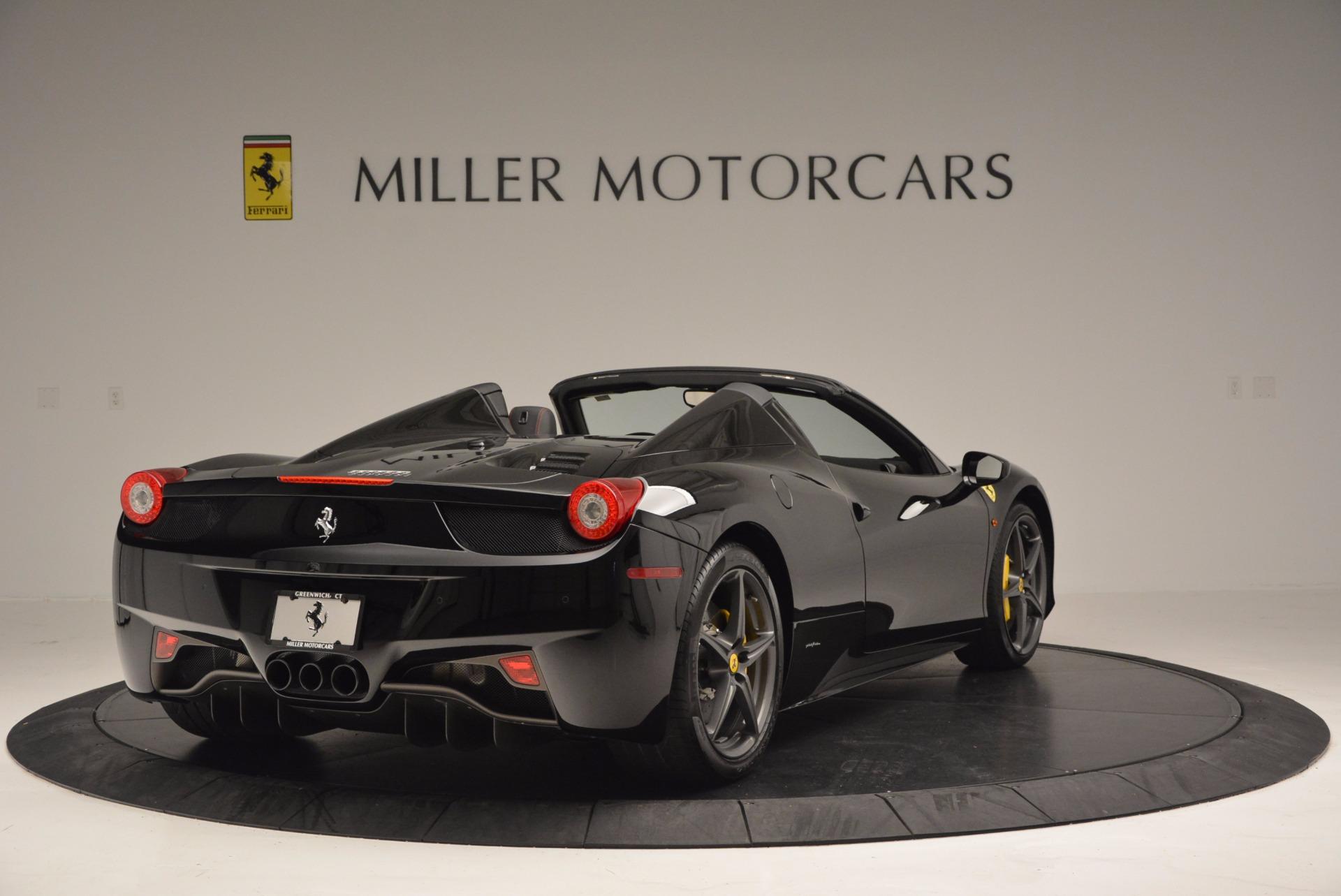 Used 2014 Ferrari 458 Spider  For Sale In Westport, CT 620_p7