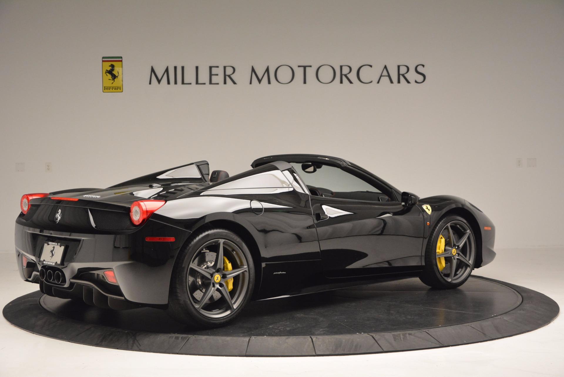 Used 2014 Ferrari 458 Spider  For Sale In Westport, CT 620_p8