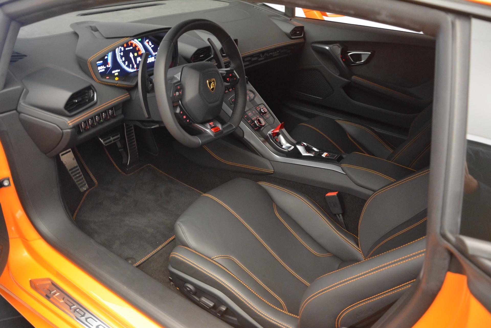 Used 2015 Lamborghini Huracan LP 610-4 For Sale In Westport, CT 621_p13