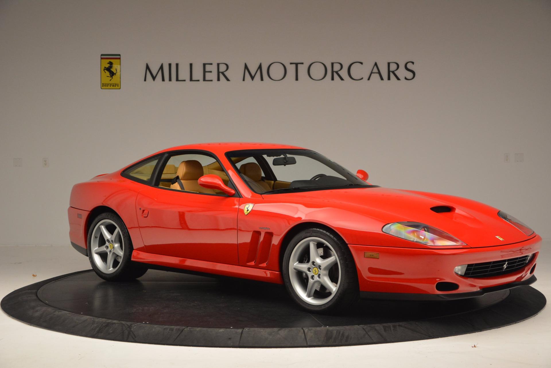Used 2000 Ferrari 550 Maranello  For Sale In Westport, CT 623_p10