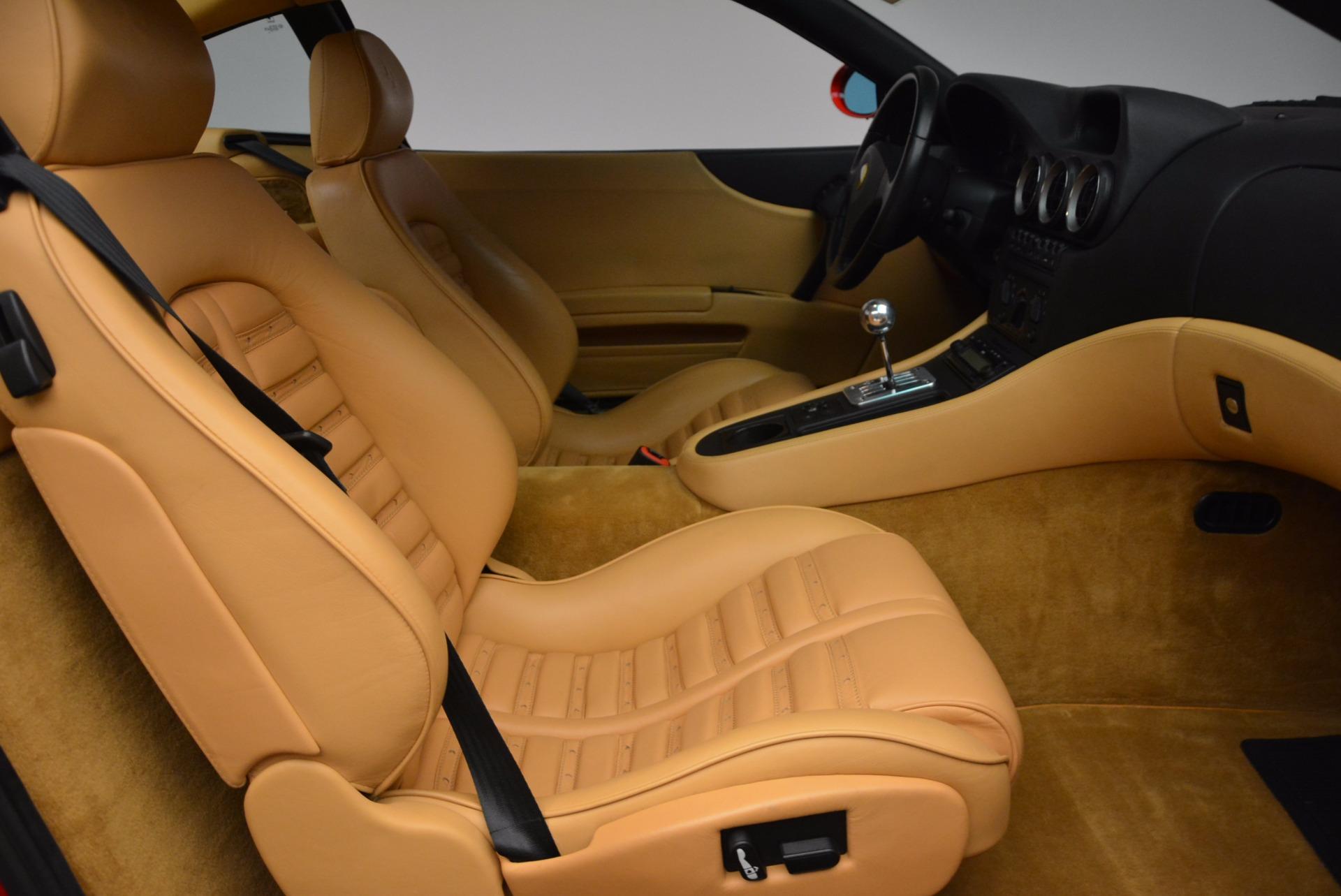 Used 2000 Ferrari 550 Maranello  For Sale In Westport, CT 623_p18