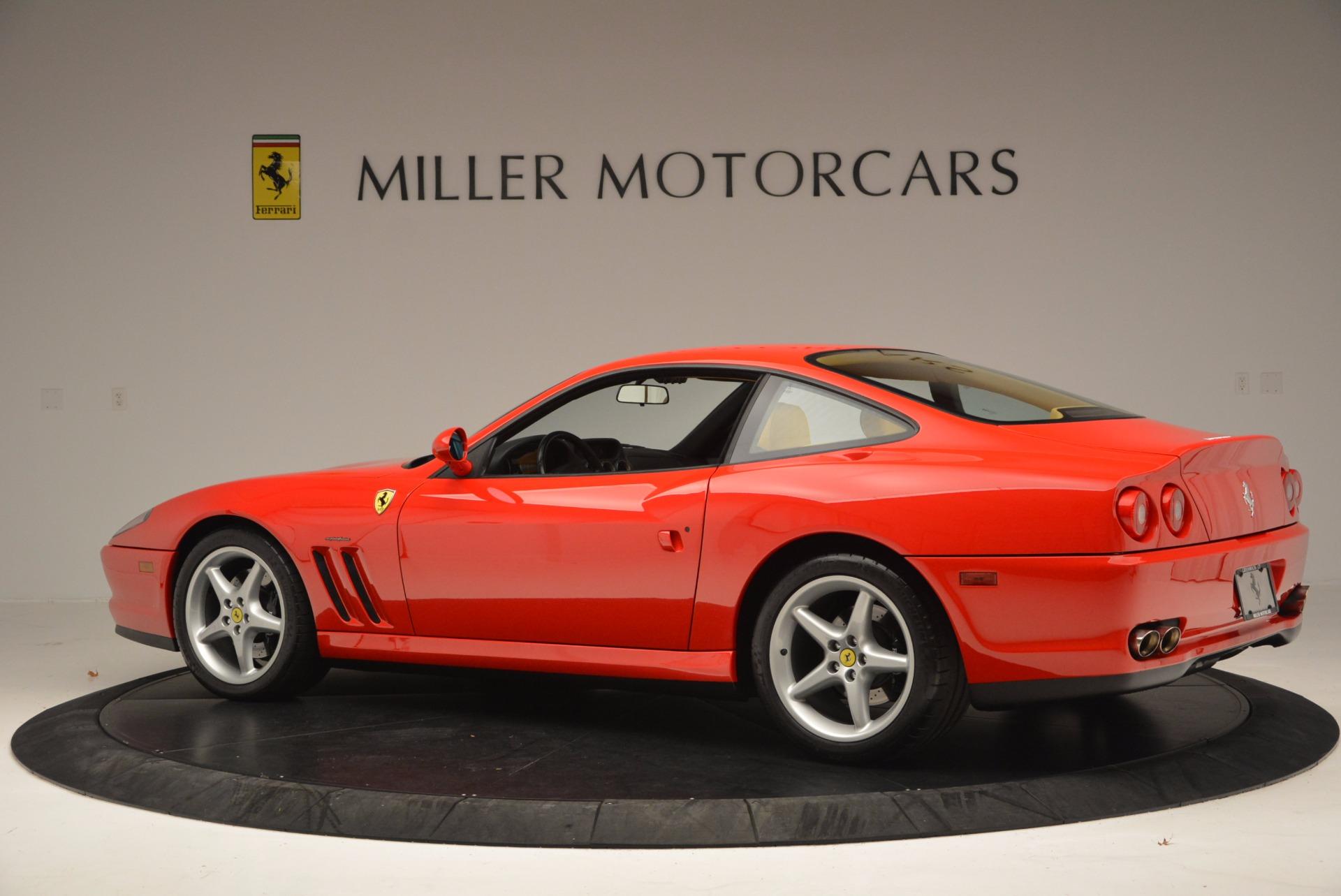 Used 2000 Ferrari 550 Maranello  For Sale In Westport, CT 623_p4