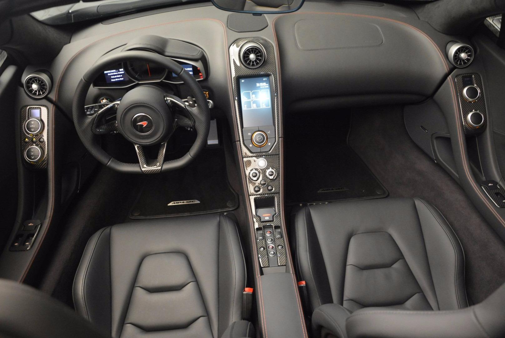 Used 2014 McLaren MP4-12C Spider  For Sale In Westport, CT 627_p25