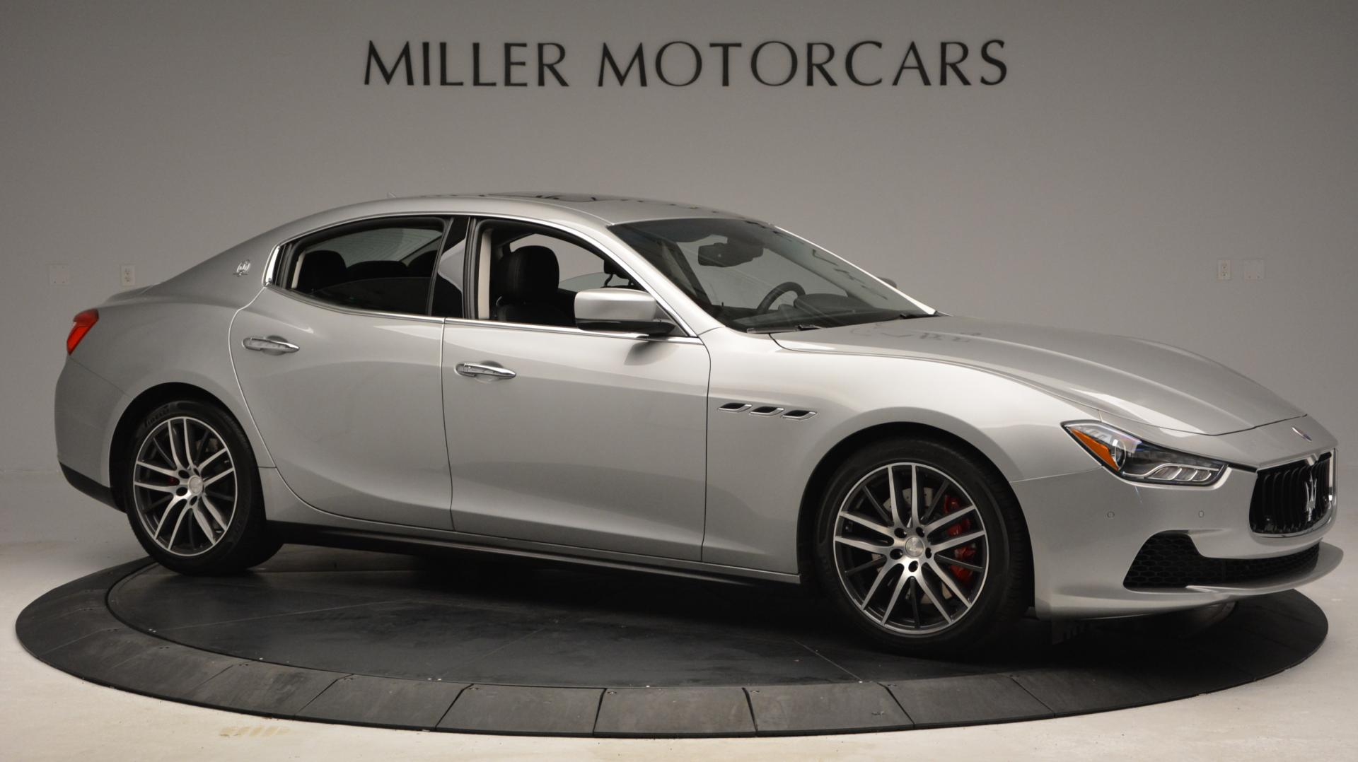 New 2016 Maserati Ghibli S Q4 For Sale In Westport, CT 63_p10