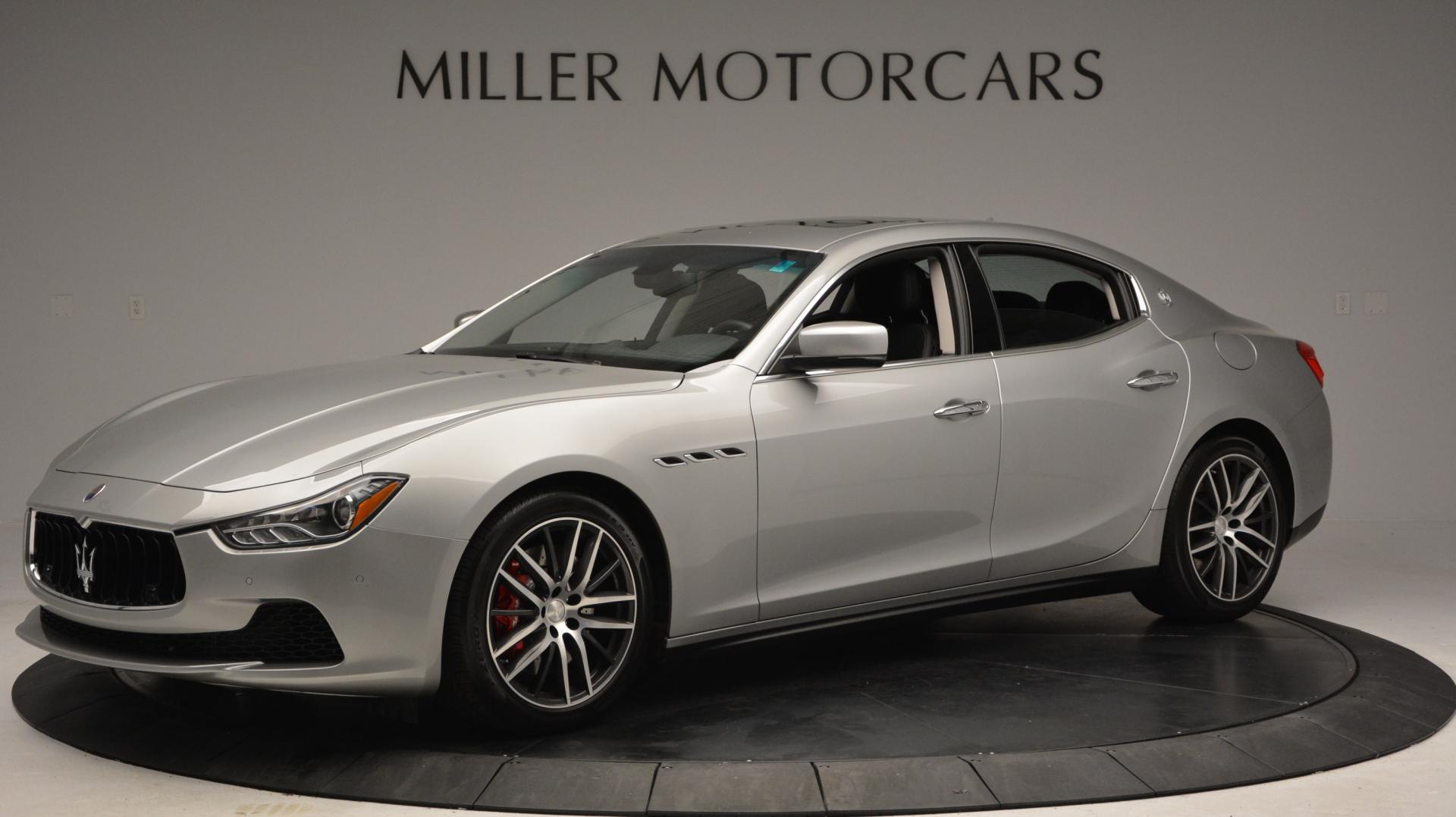 New 2016 Maserati Ghibli S Q4 For Sale In Westport, CT 63_p2