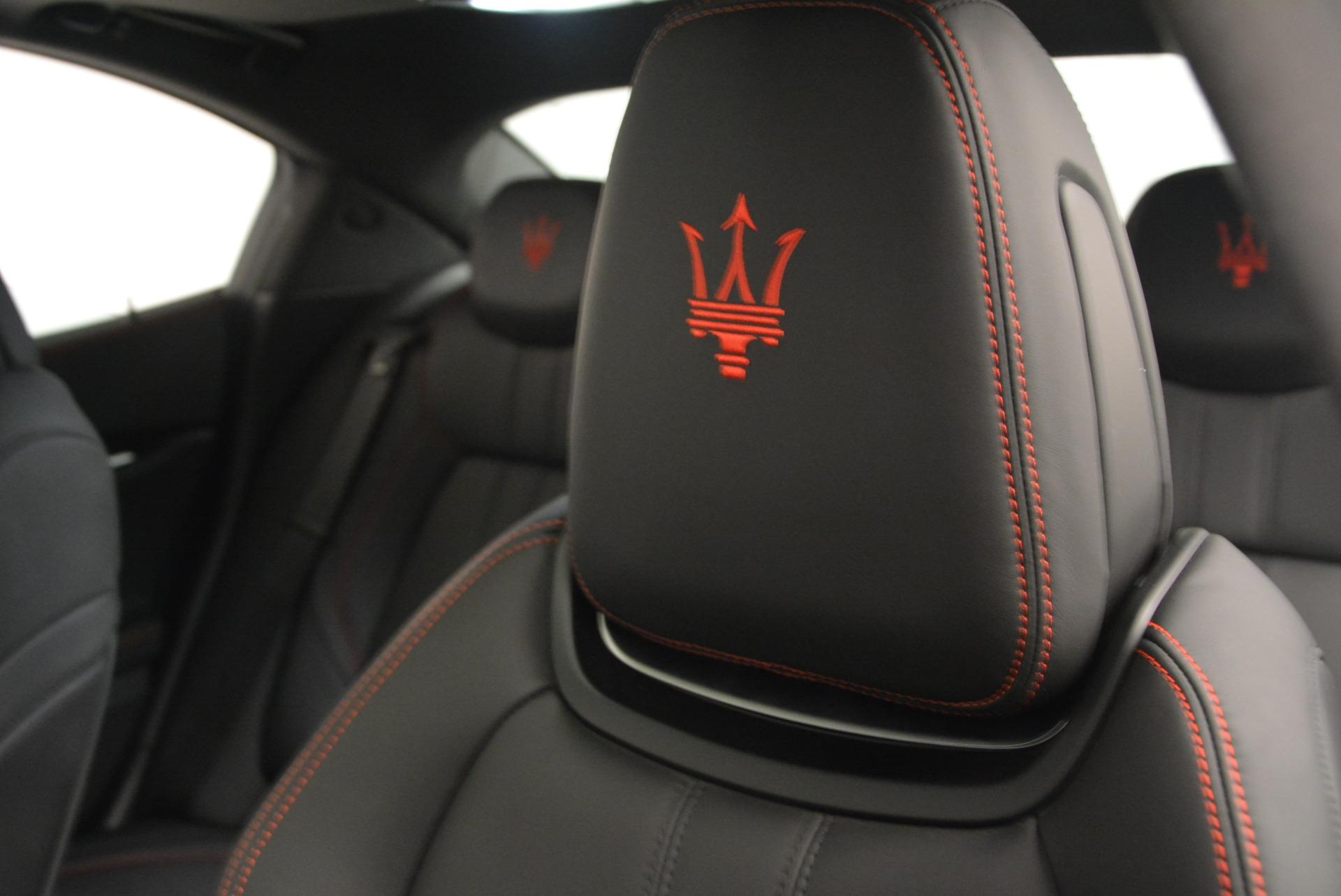 New 2017 Maserati Ghibli S Q4 For Sale In Westport, CT 630_p16