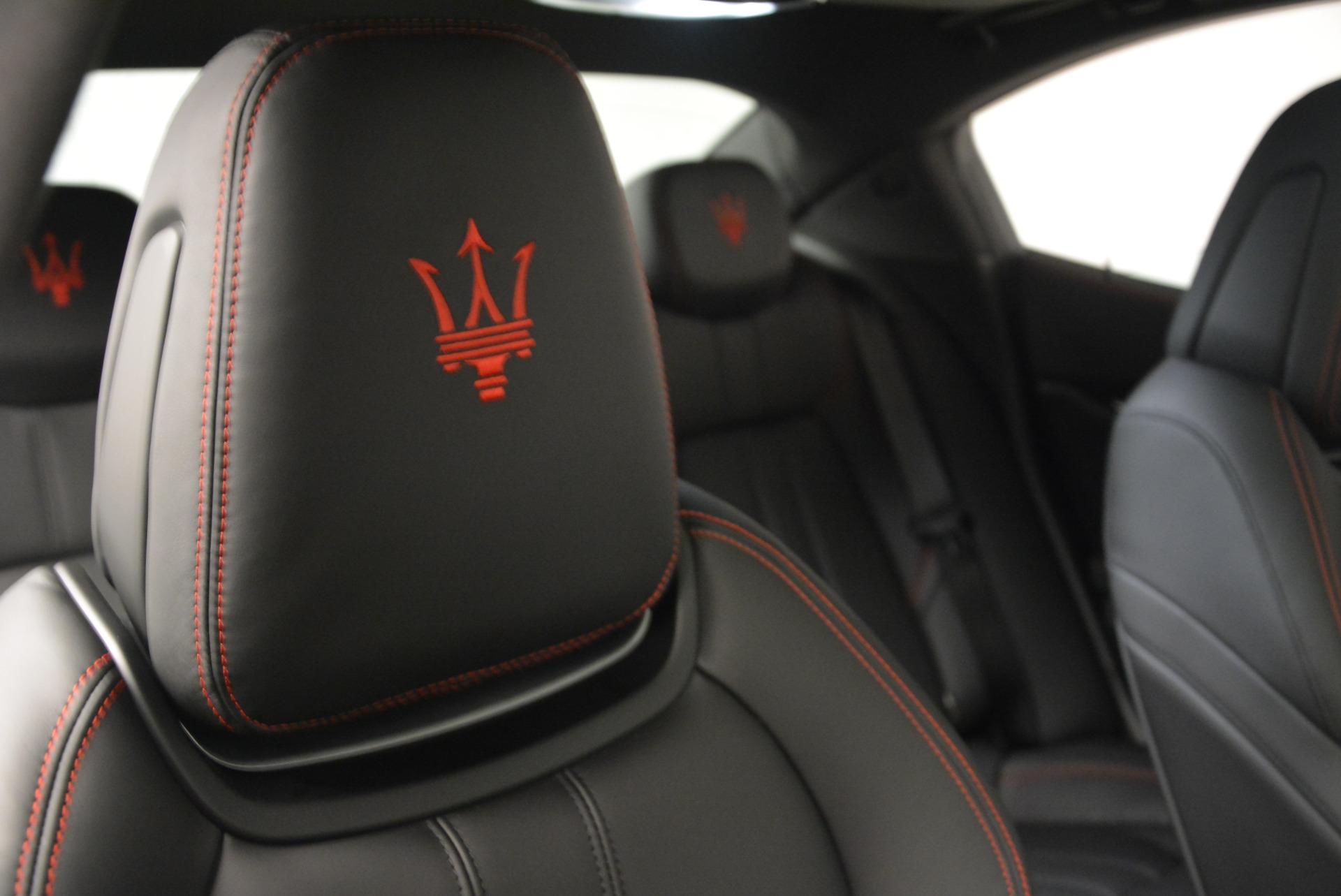New 2017 Maserati Ghibli S Q4 For Sale In Westport, CT 630_p24