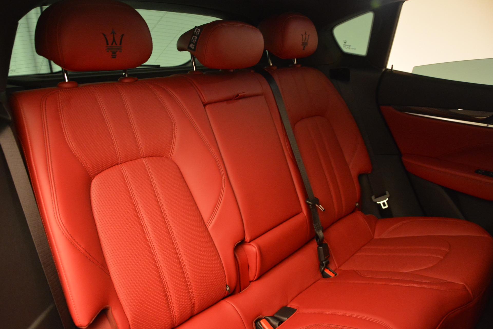 Used 2017 Maserati Levante Ex Service Loaner For Sale In Westport, CT 631_p26