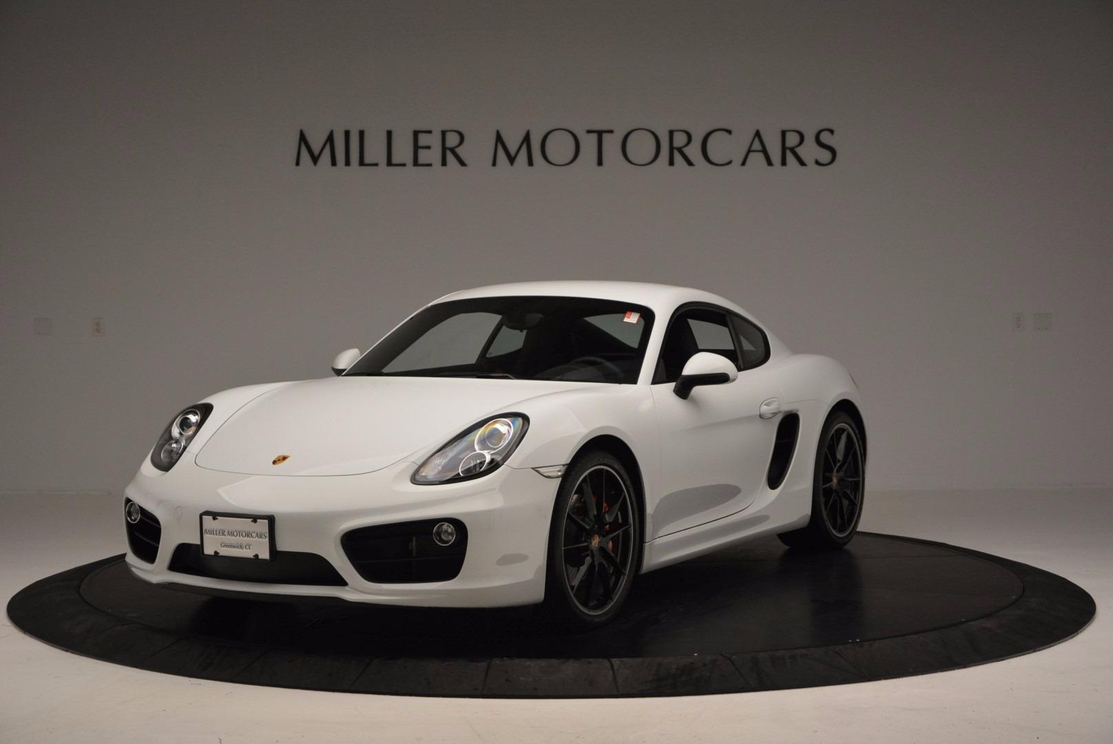Used 2014 Porsche Cayman S For Sale In Westport, CT 657_main