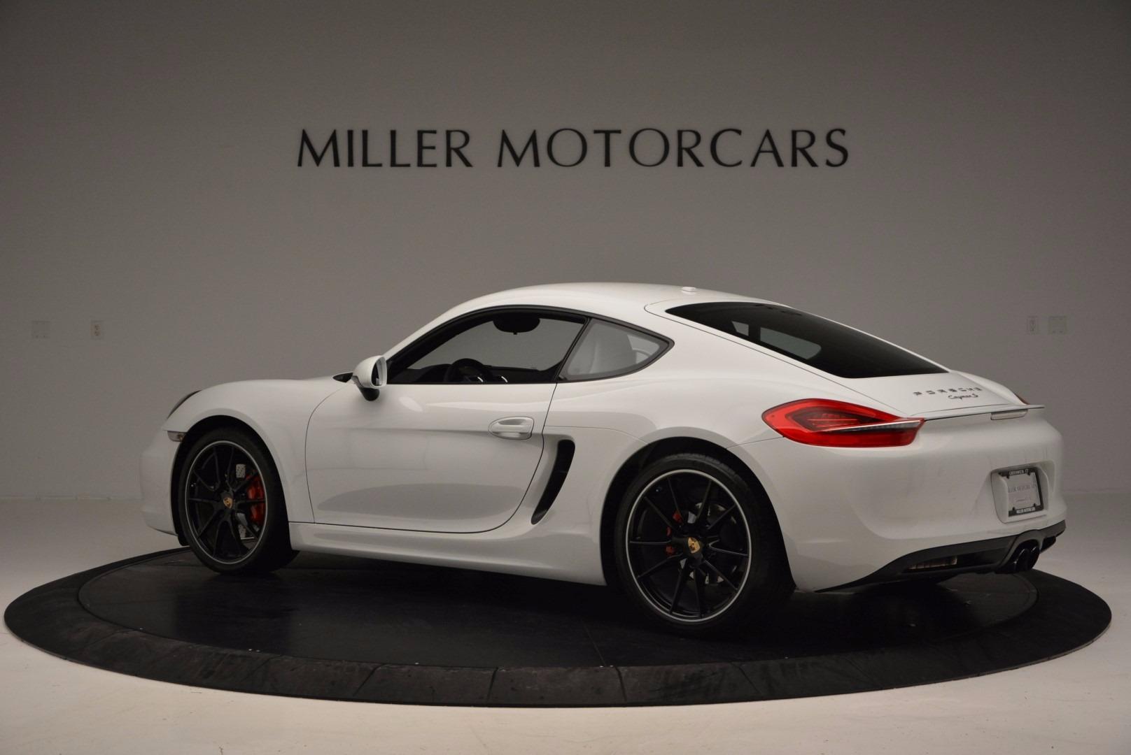 Used 2014 Porsche Cayman S For Sale In Westport, CT 657_p4