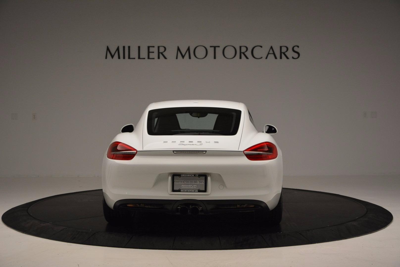 Used 2014 Porsche Cayman S For Sale In Westport, CT 657_p6