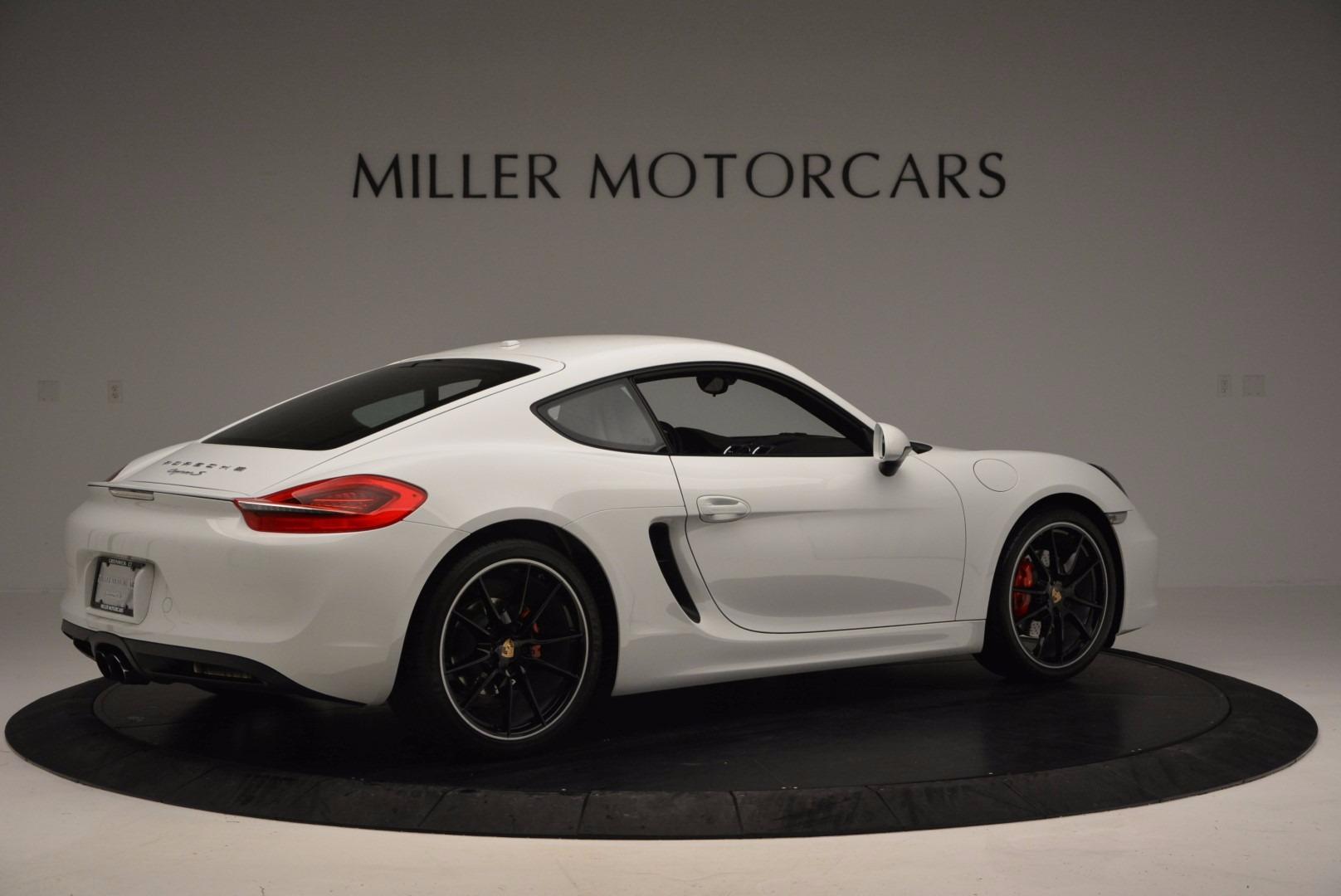 Used 2014 Porsche Cayman S For Sale In Westport, CT 657_p8