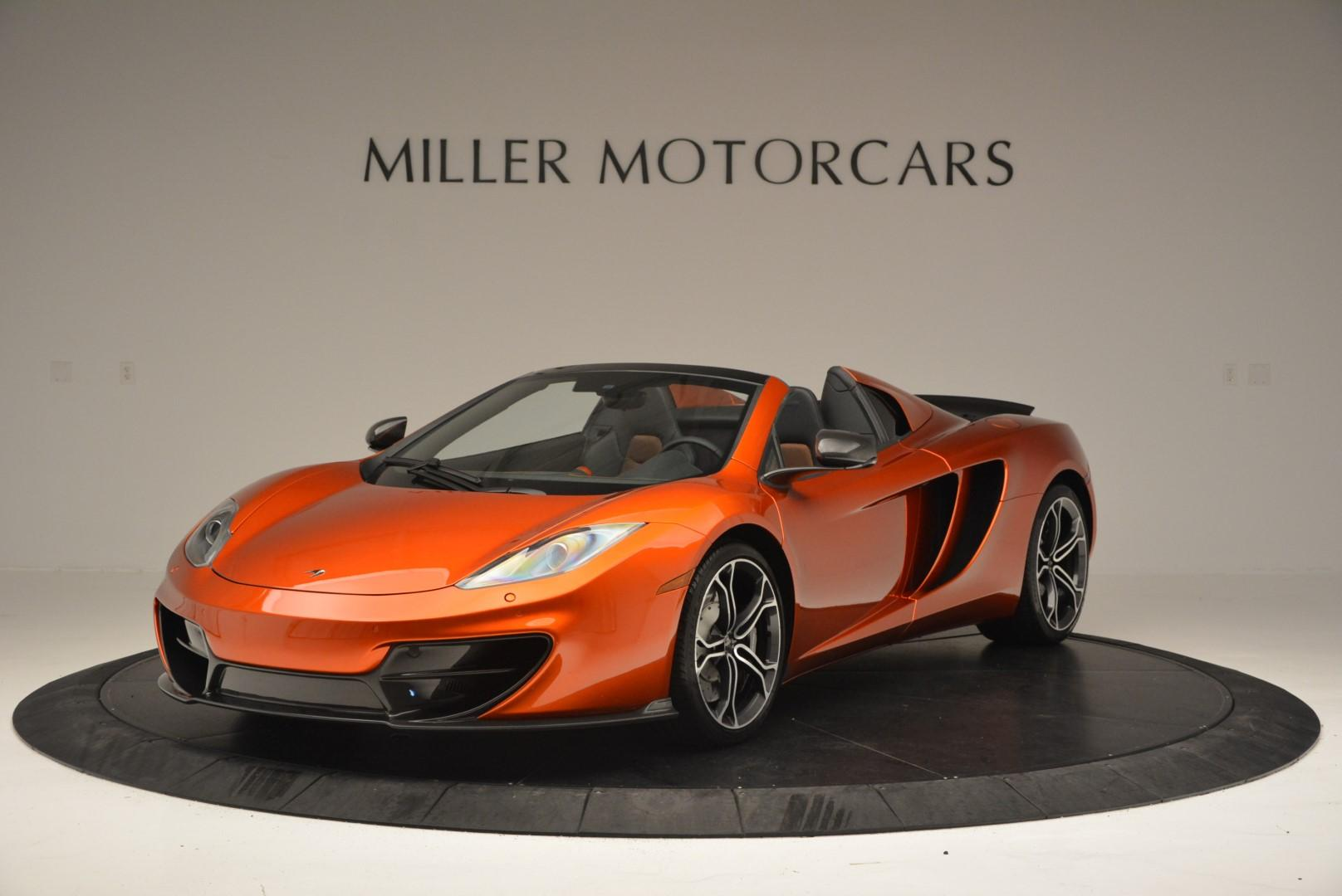 Used 2013 McLaren MP4-12C Base For Sale In Westport, CT 66_main
