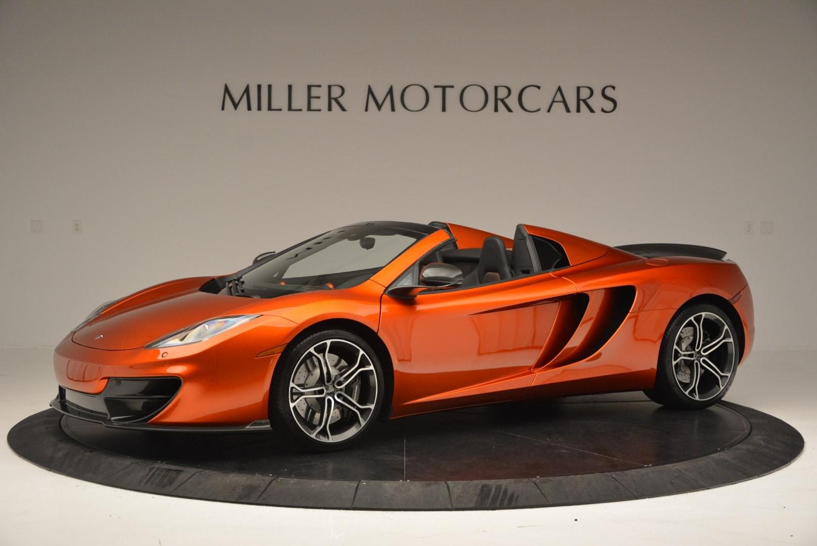 Used 2013 McLaren MP4-12C Base For Sale In Westport, CT 66_p2