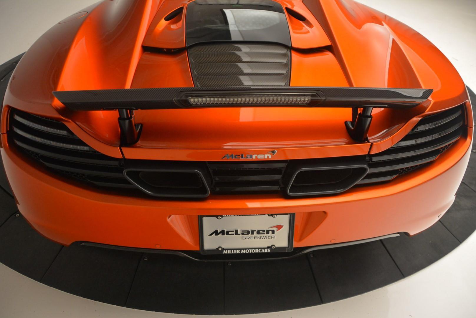 Used 2013 McLaren MP4-12C Base For Sale In Westport, CT 66_p33