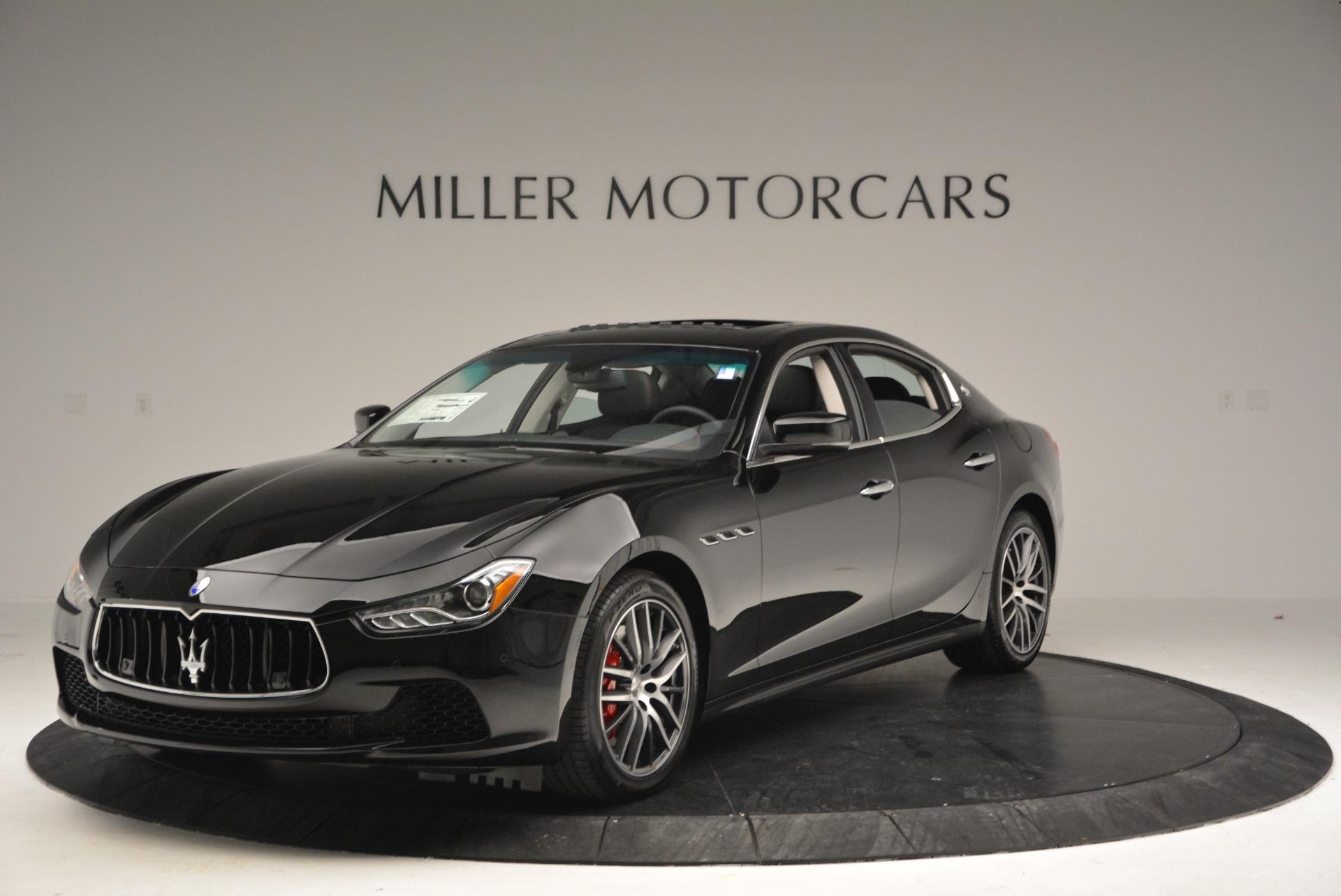 Used 2016 Maserati Ghibli S Q4  EX-LOANER For Sale In Westport, CT 667_main