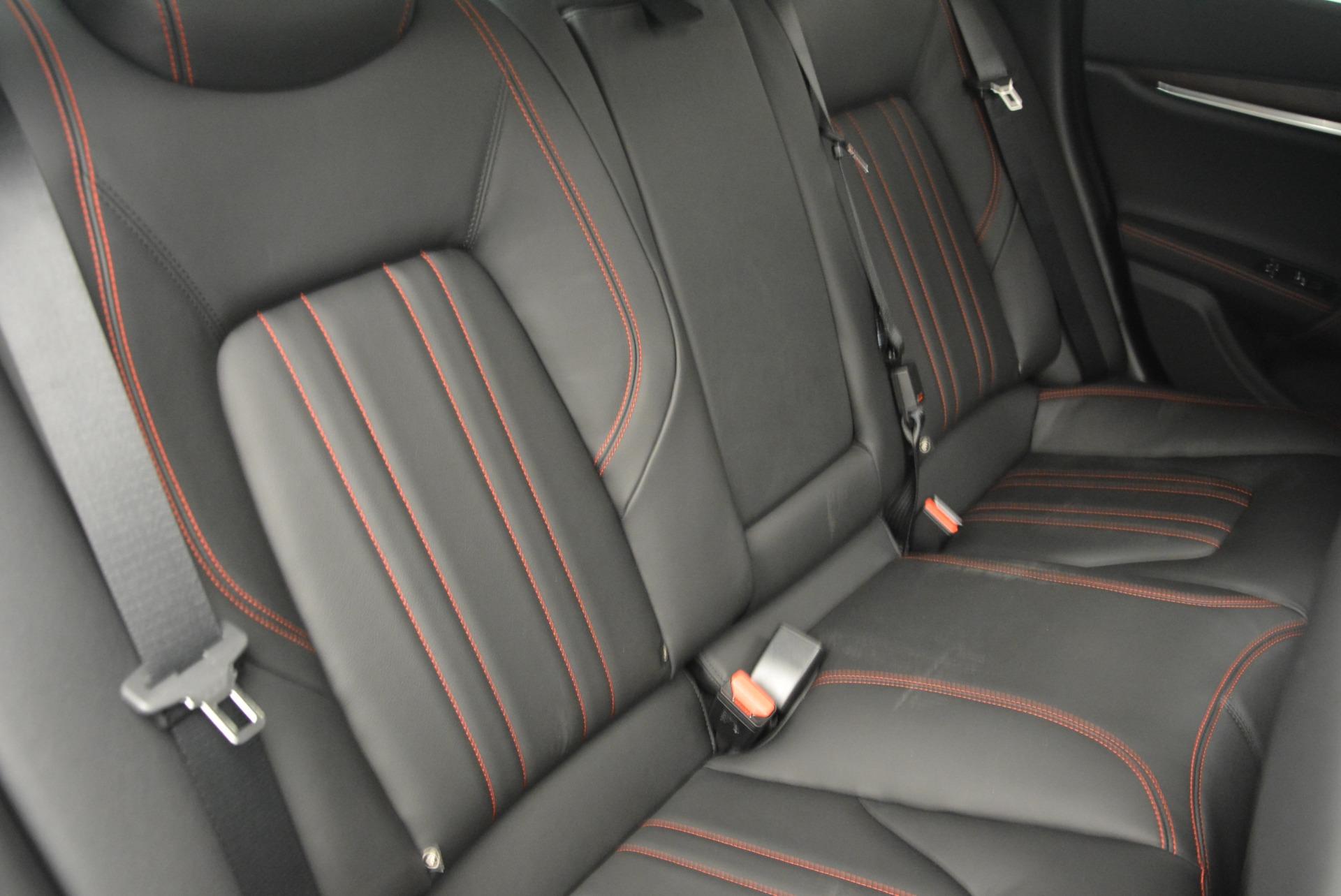 Used 2016 Maserati Ghibli S Q4  EX-LOANER For Sale In Westport, CT 667_p36