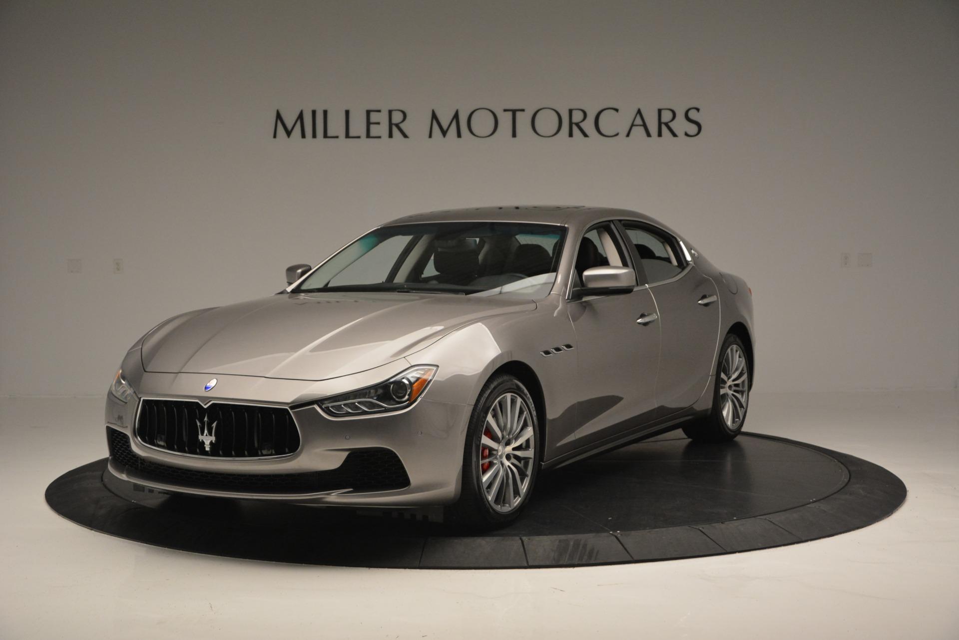 Used 2016 Maserati Ghibli S Q4  EX- LOANER For Sale In Westport, CT 668_main