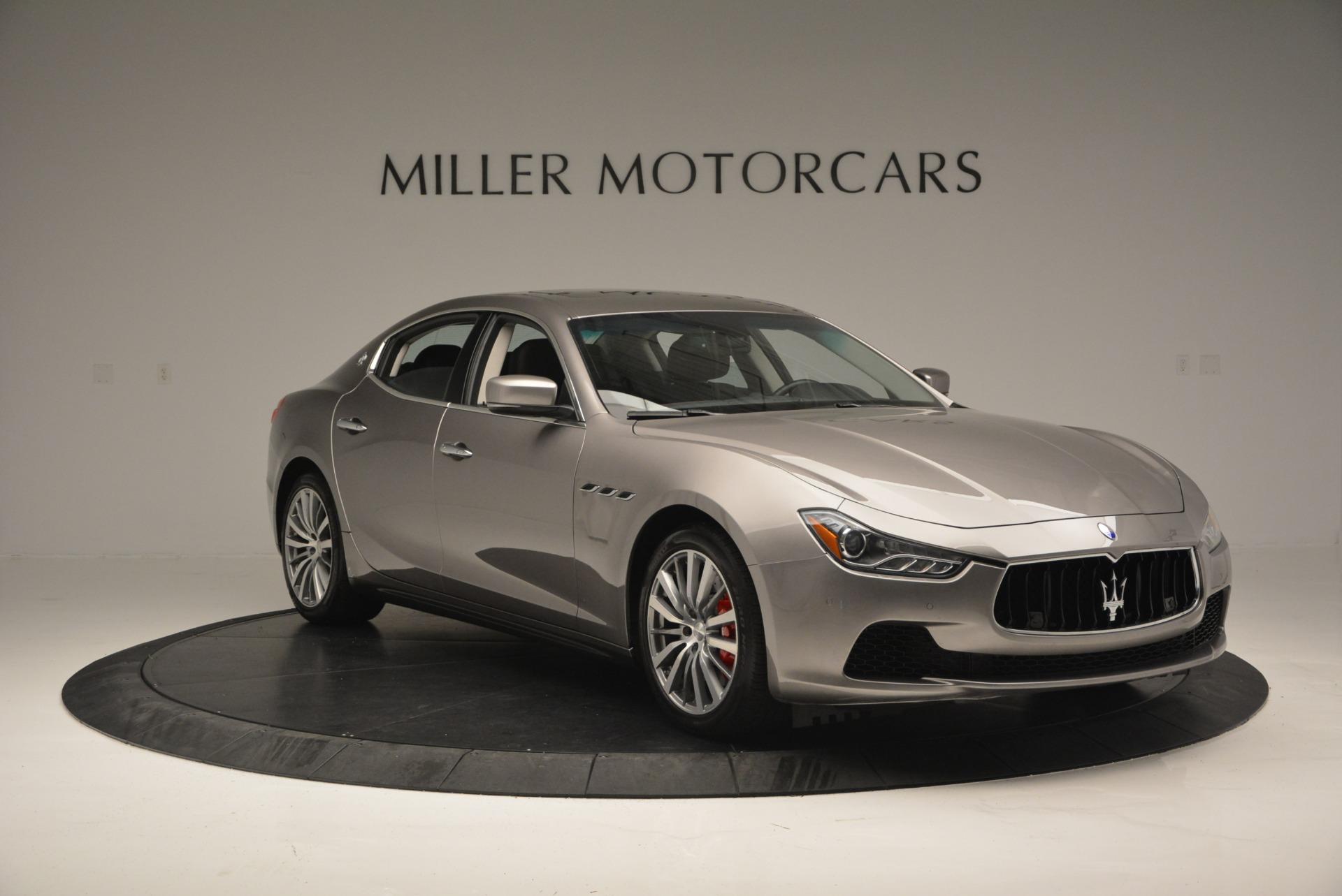 Used 2016 Maserati Ghibli S Q4  EX- LOANER For Sale In Westport, CT 668_p11