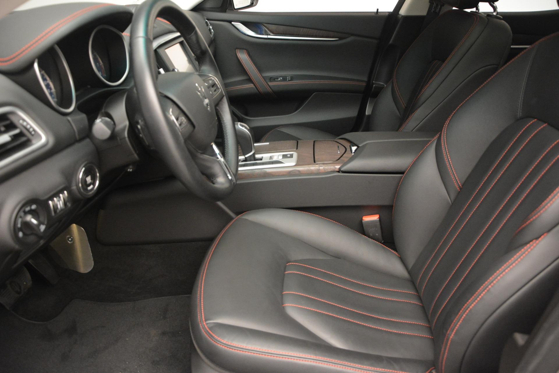 Used 2016 Maserati Ghibli S Q4  EX- LOANER For Sale In Westport, CT 668_p14