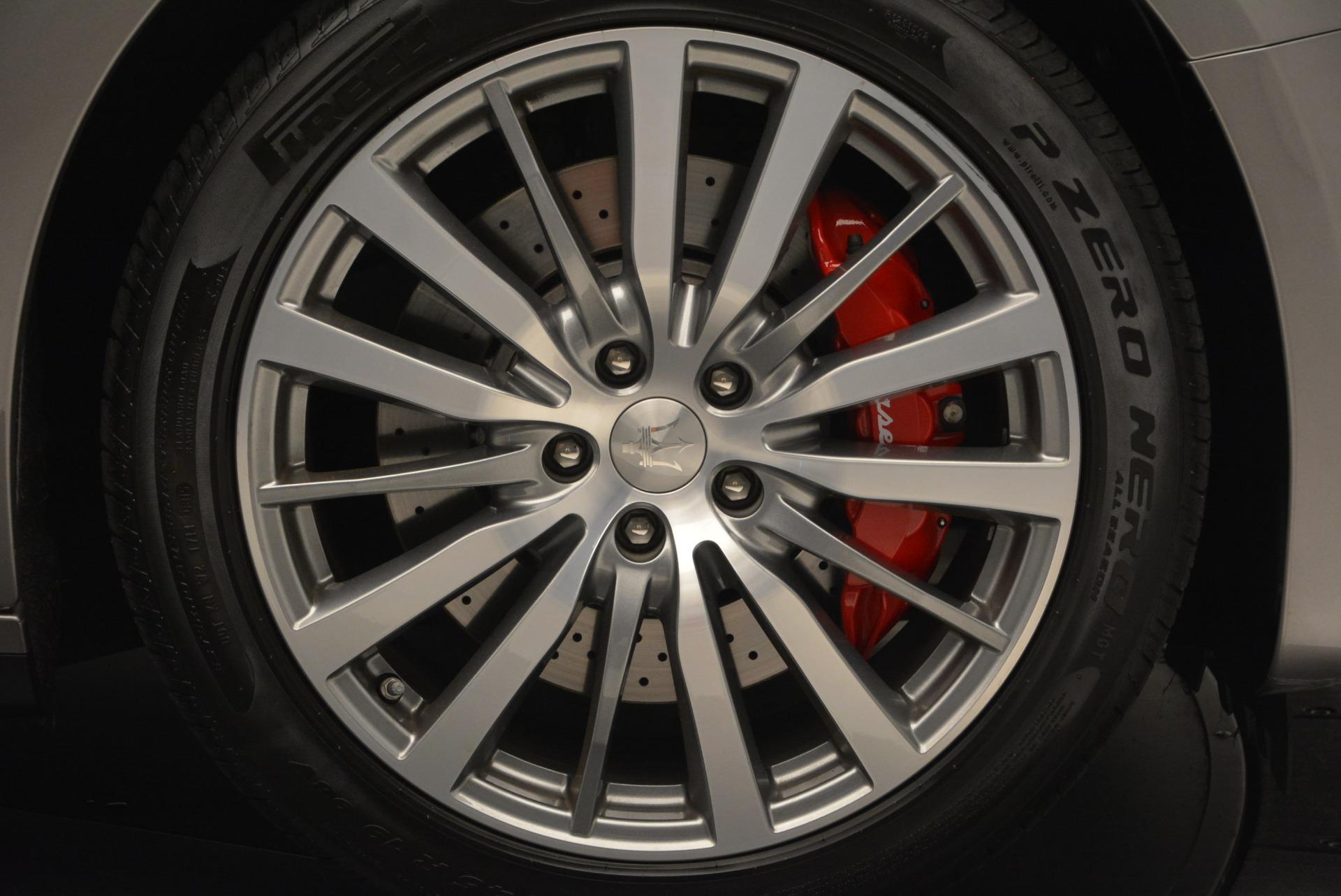 Used 2016 Maserati Ghibli S Q4  EX- LOANER For Sale In Westport, CT 668_p27