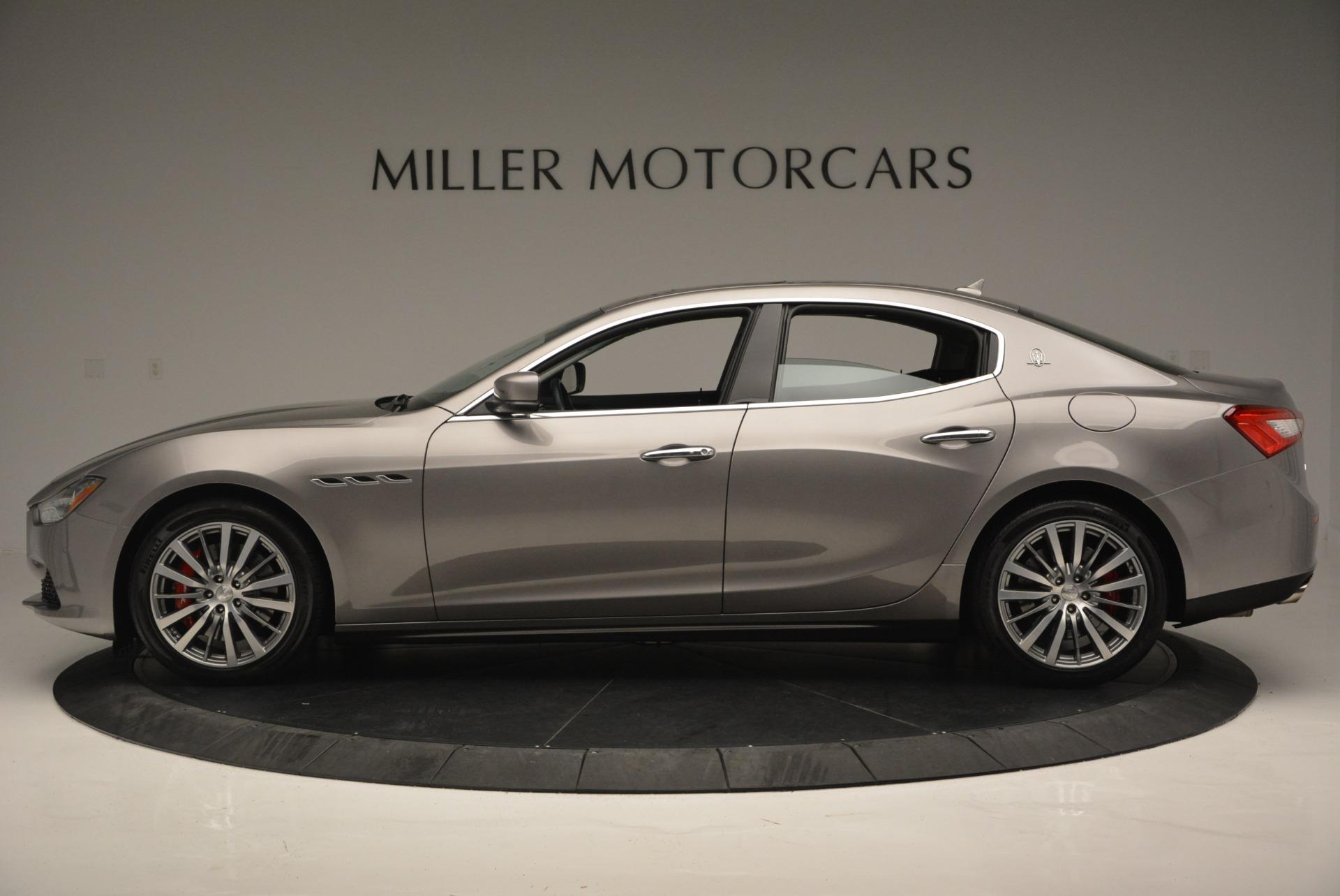 Used 2016 Maserati Ghibli S Q4  EX- LOANER For Sale In Westport, CT 668_p3