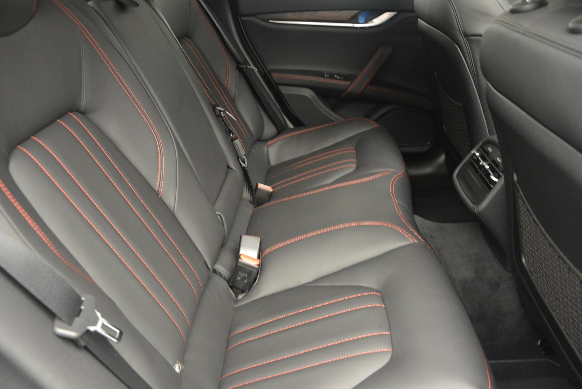 Used 2016 Maserati Ghibli S Q4  EX-LOANER For Sale In Westport, CT 669_p23
