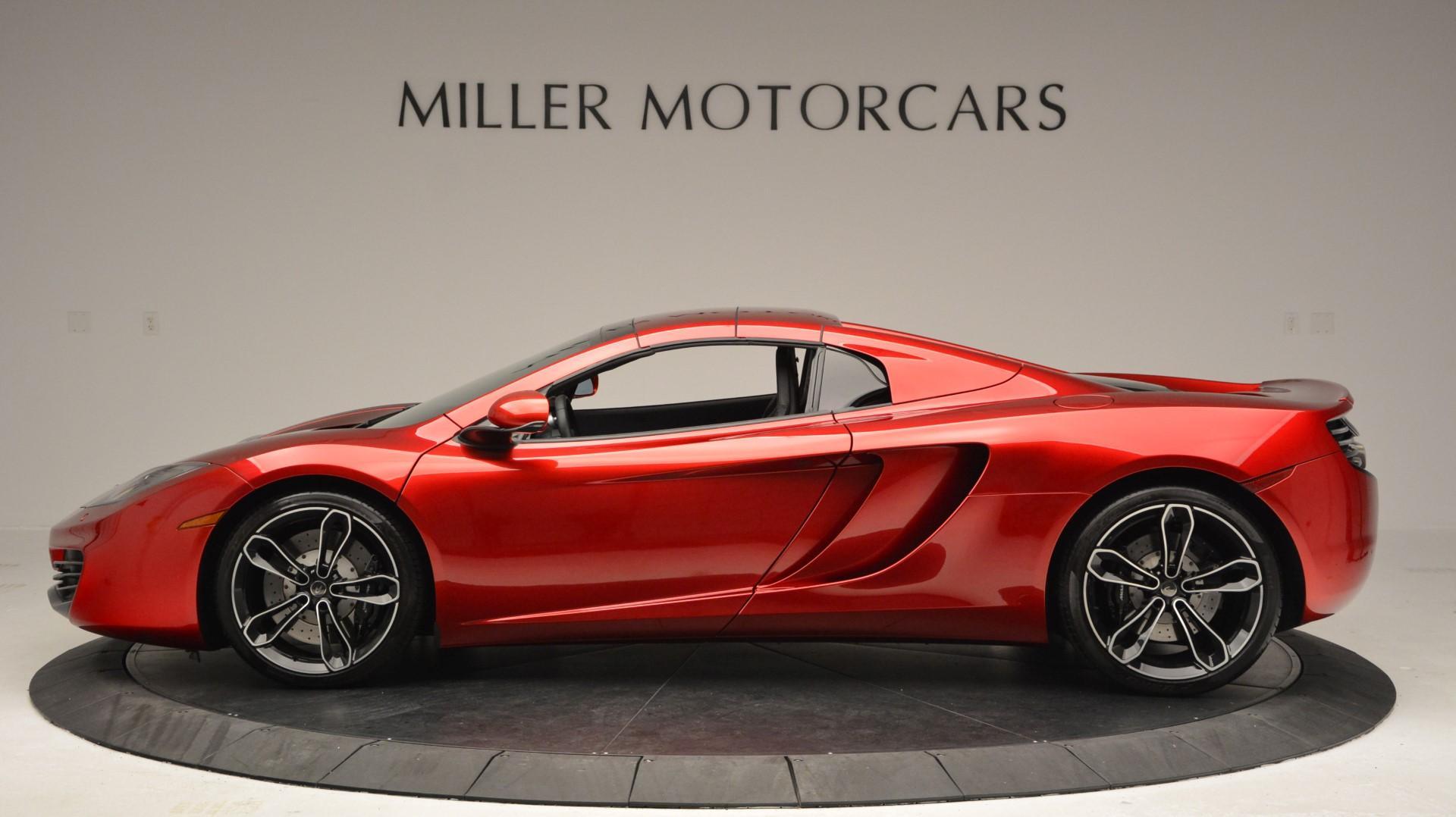Used 2013 McLaren 12C Spider  For Sale In Westport, CT 67_p16