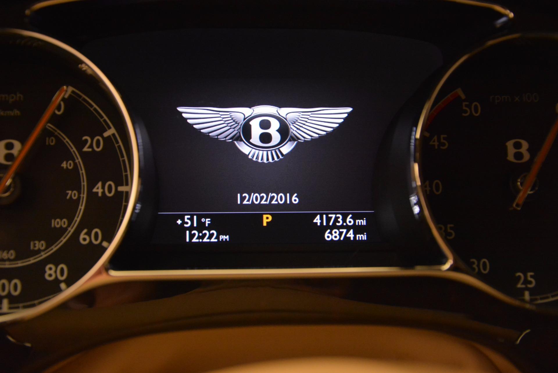Used 2016 Bentley Mulsanne Speed For Sale In Westport, CT 671_p53