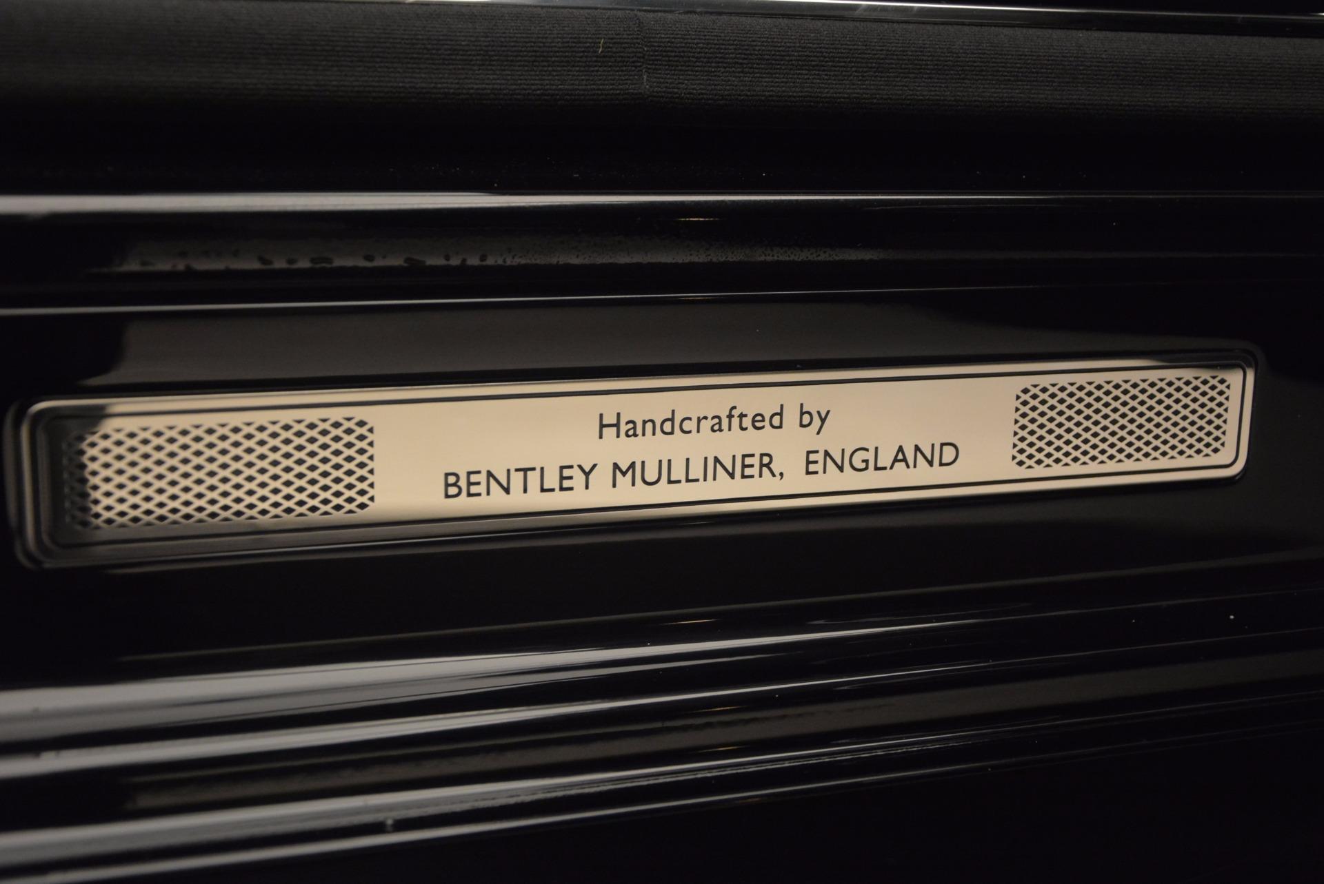 Used 2016 Bentley Mulsanne  For Sale In Westport, CT 672_p46