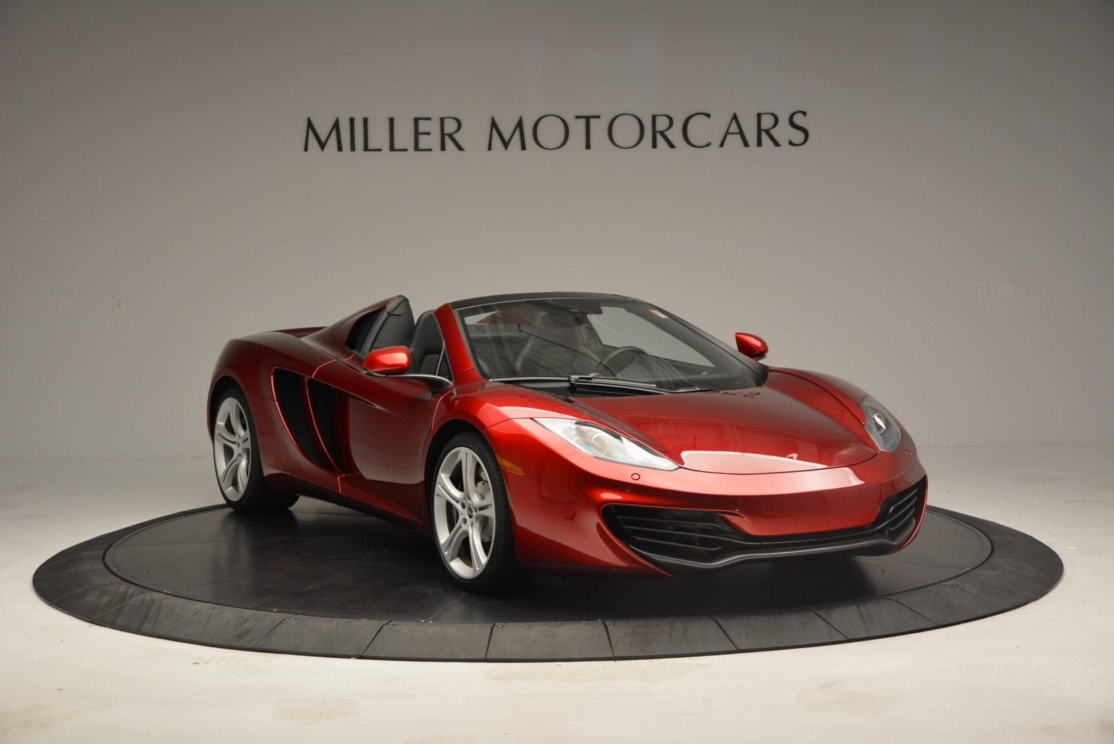 Used 2013 McLaren 12C Spider  For Sale In Westport, CT 68_p11