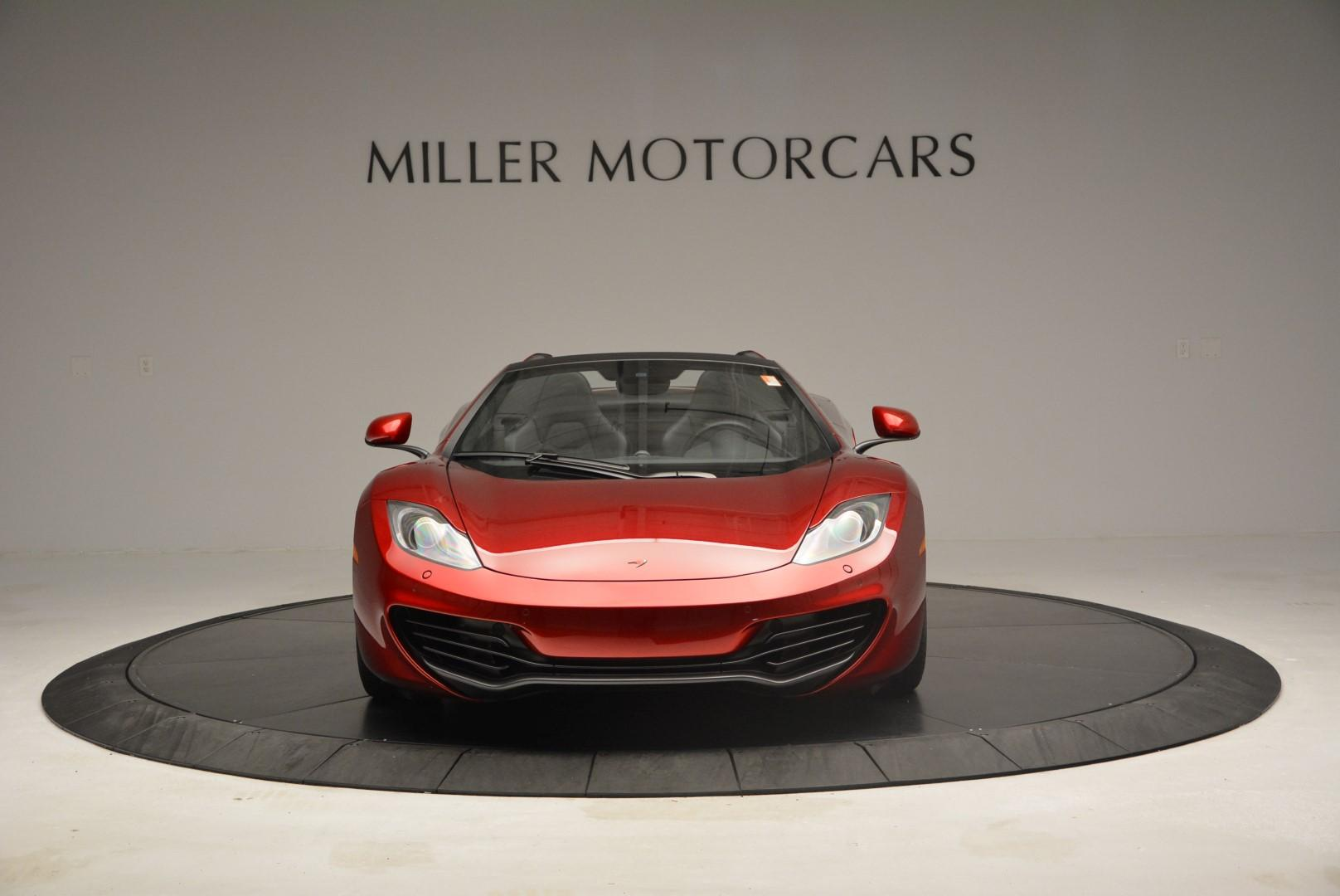 Used 2013 McLaren 12C Spider  For Sale In Westport, CT 68_p12
