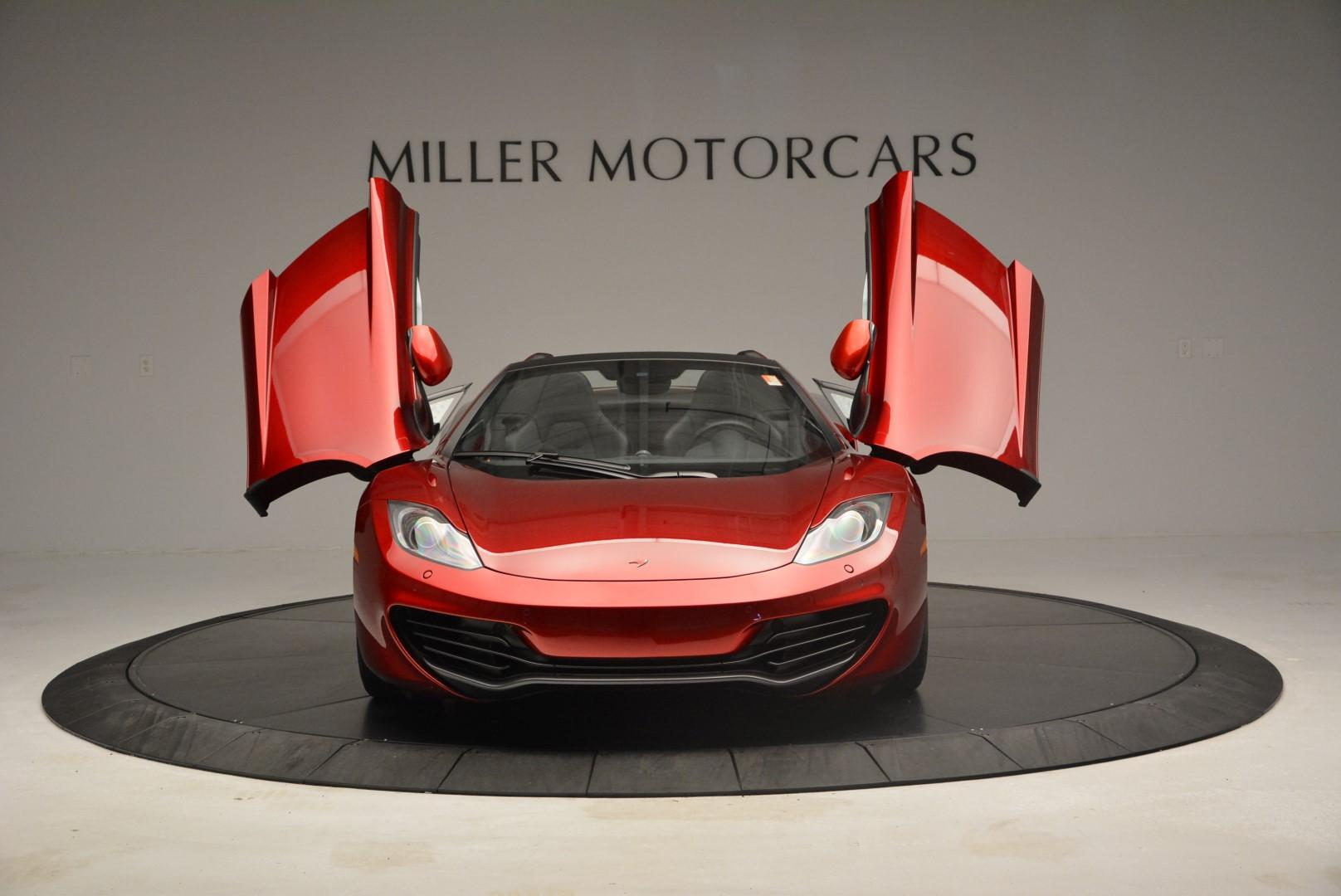 Used 2013 McLaren 12C Spider  For Sale In Westport, CT 68_p13