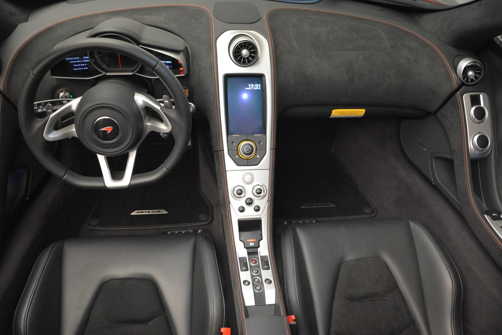 Used 2013 McLaren 12C Spider  For Sale In Westport, CT 68_p24