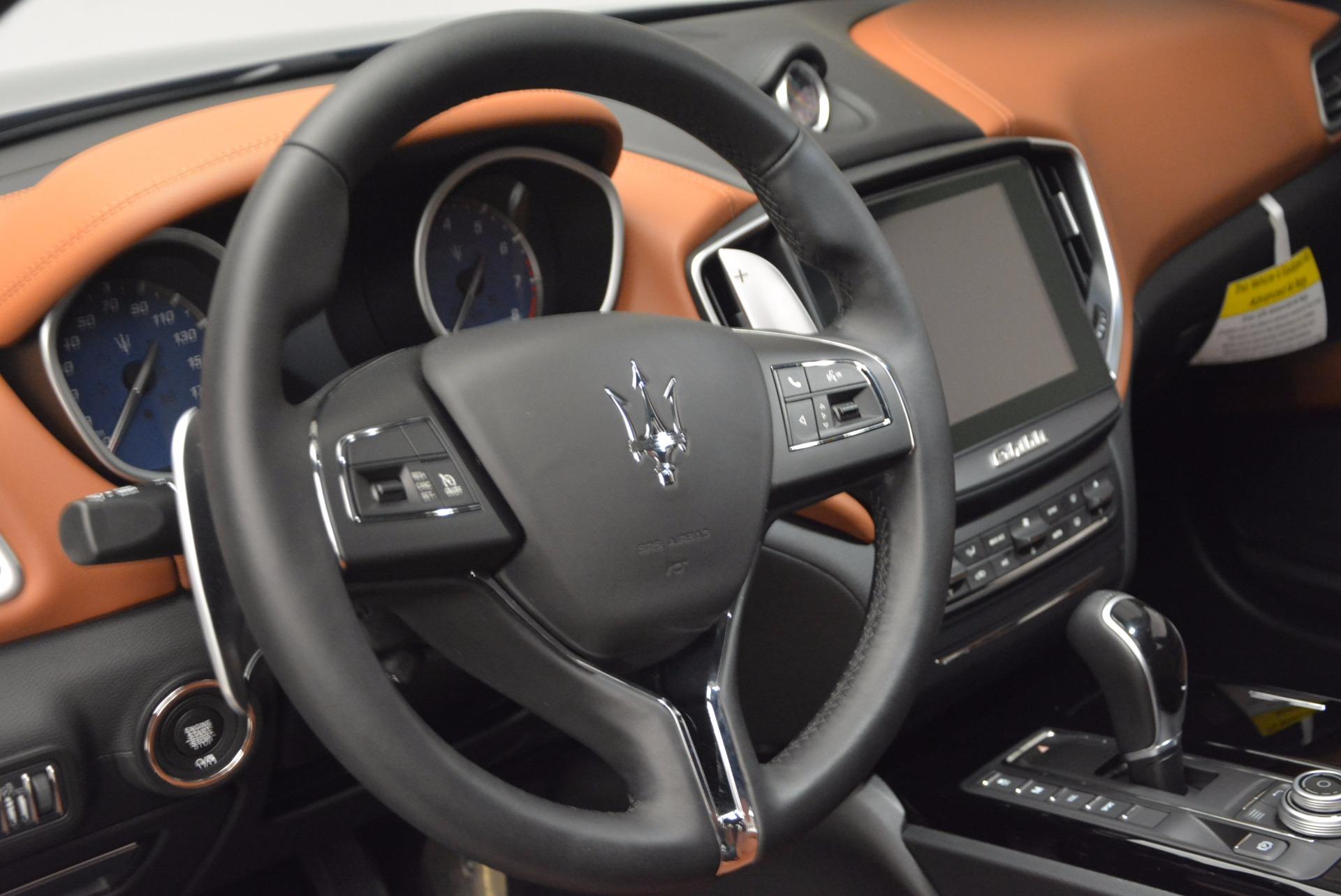 New 2017 Maserati Ghibli S Q4 For Sale In Westport, CT 683_p17