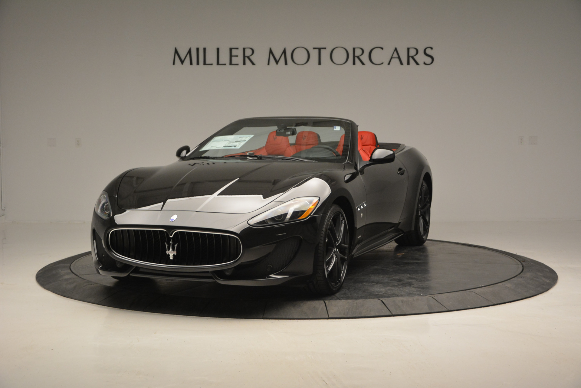 New 2017 Maserati GranTurismo Cab Sport For Sale In Westport, CT 687_main