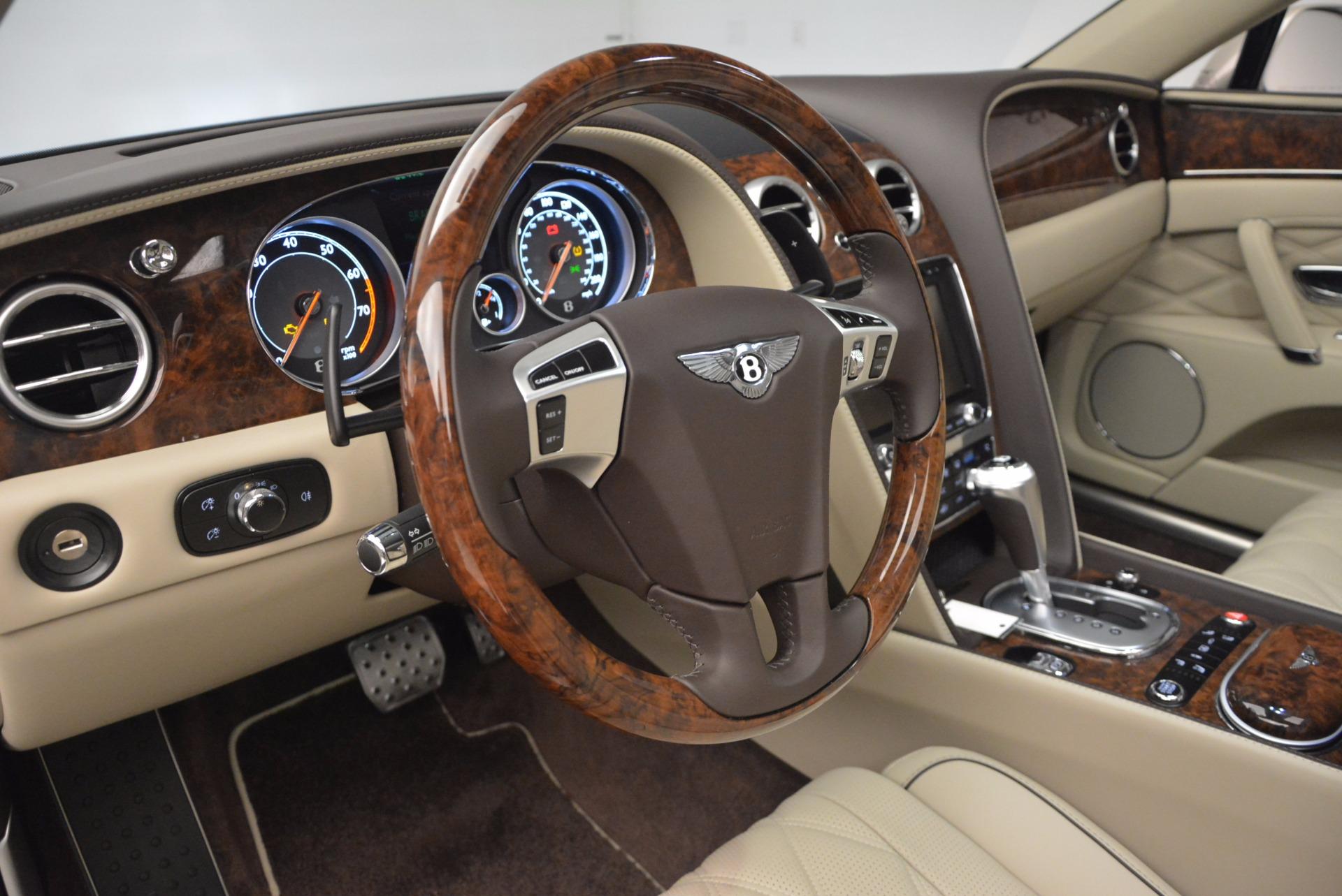 Used 2015 Bentley Flying Spur W12  For Sale In Westport, CT 694_p25